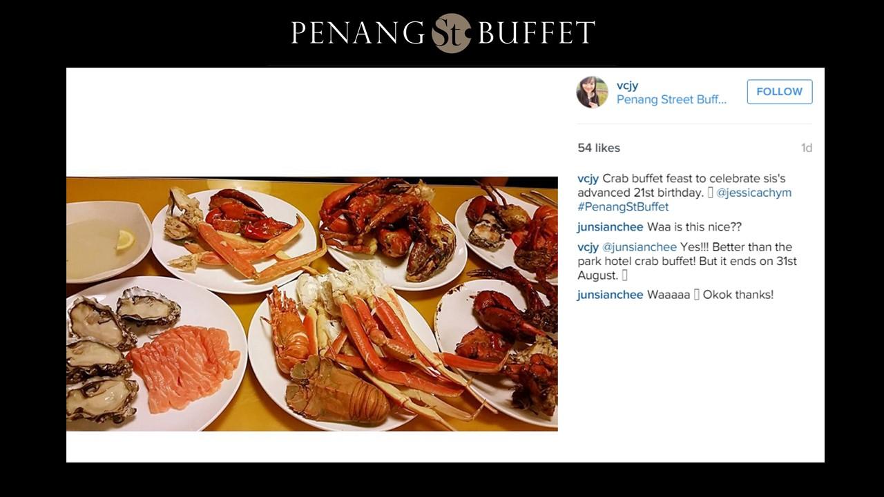 Halal Buffet in Singapore ? Crab Buffet 4