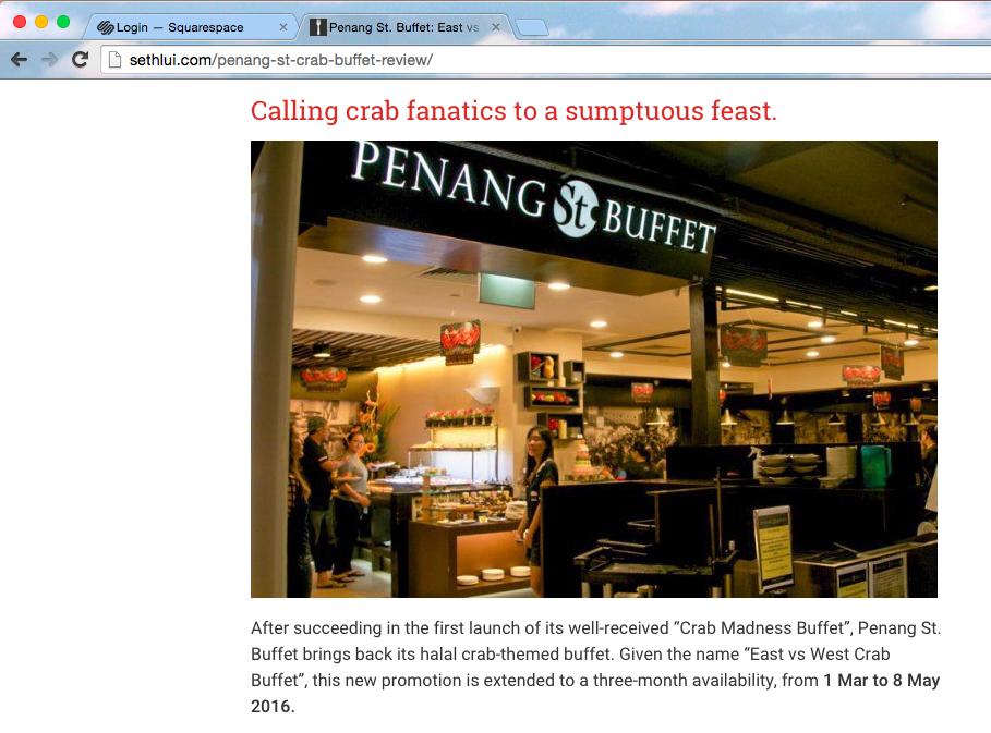 halal buffet | crab buffet