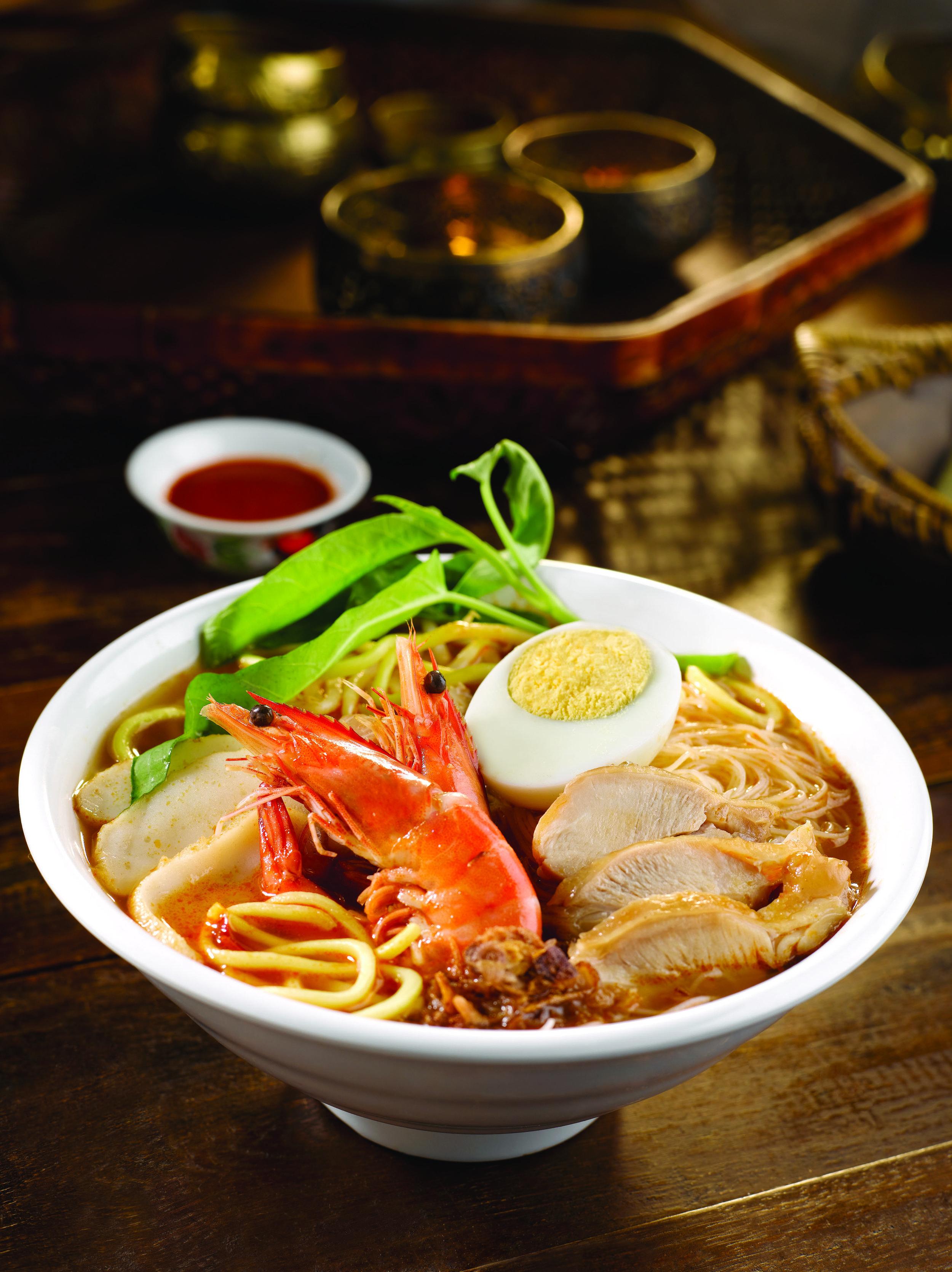 Penang Hokkien Prawn Noodles