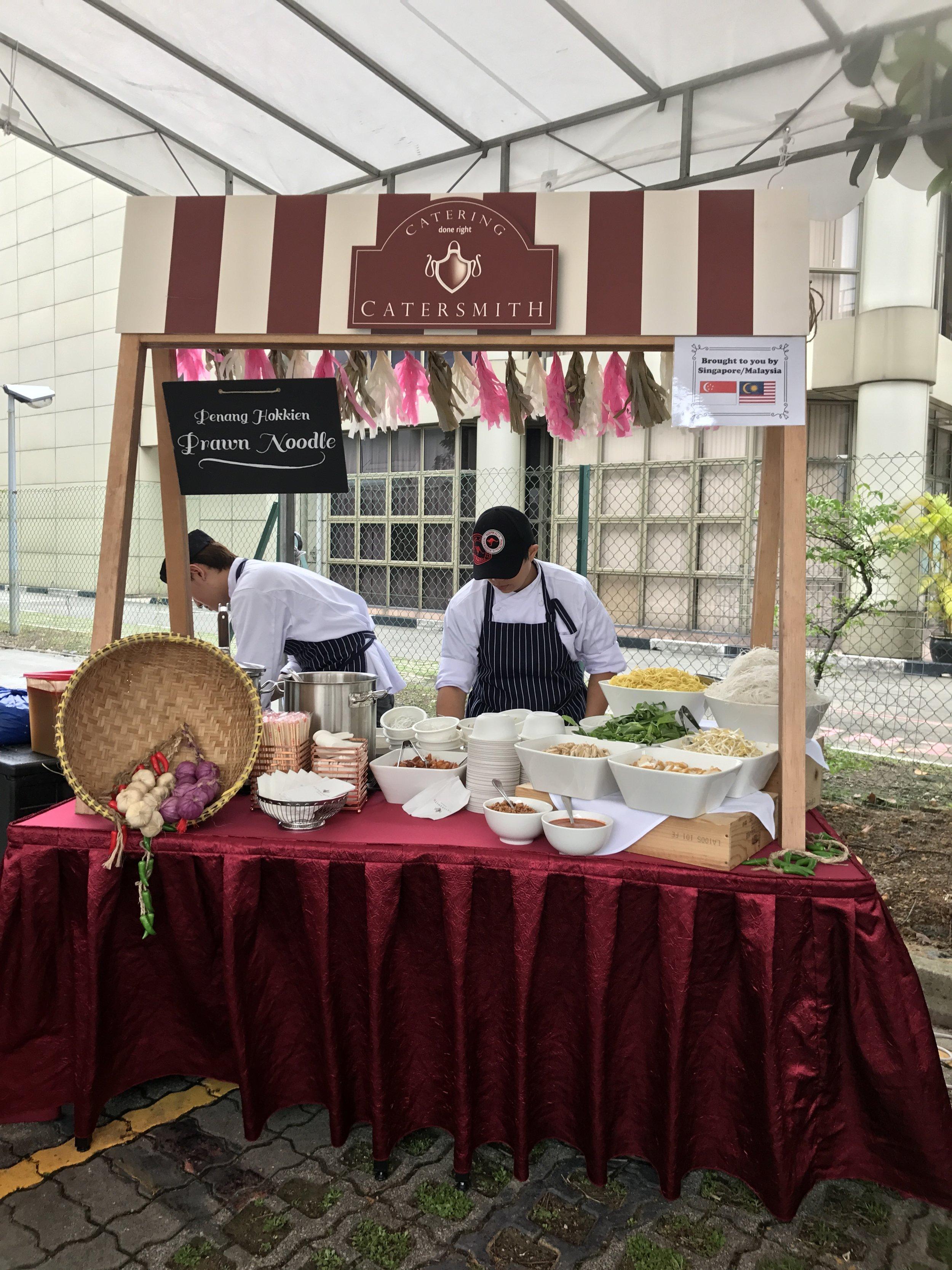 Penang Hokkien Prawn Noodles Live Station