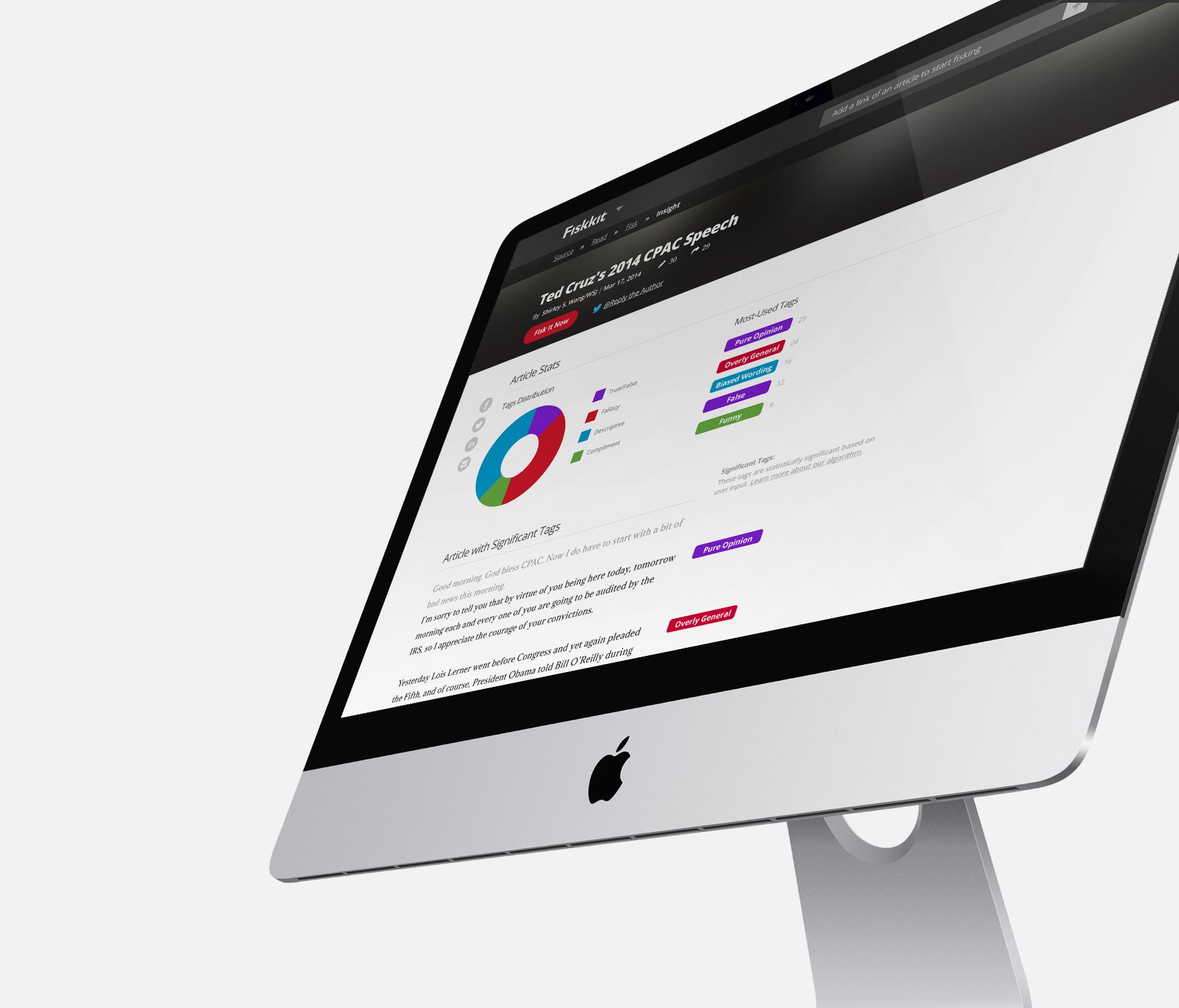 Fiskkit on Desktop