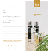 Reef House Spa Retail Prescription Design by Spa Wellness Consulting Australia