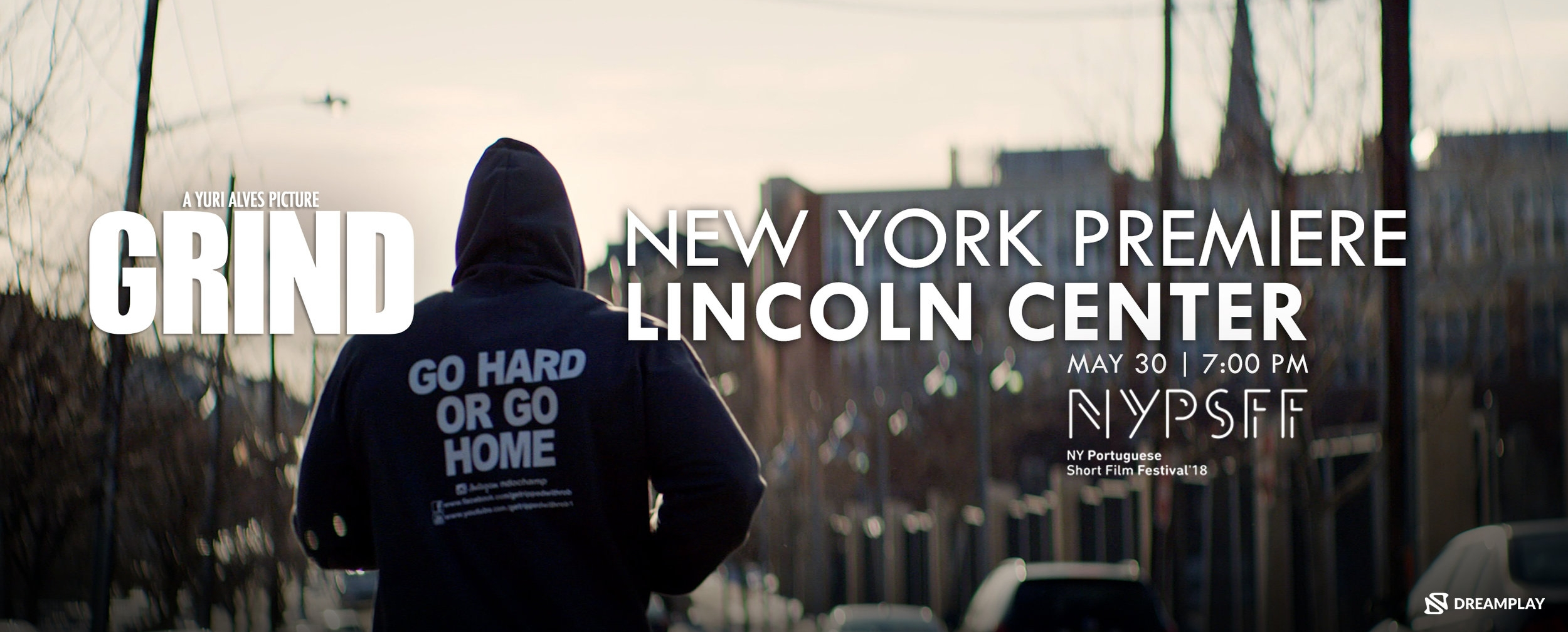 We invite you to come experience the award-winning film  GRIND  on the big screen. The NY Premiere will be held on May 30th, 7PM at  Lincoln Center  part of the NYPSFF 2018.