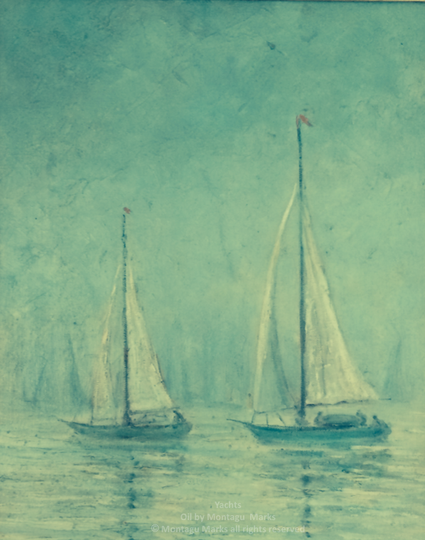 yachts by montagu marks copyright all rights reserved. Private Collection.