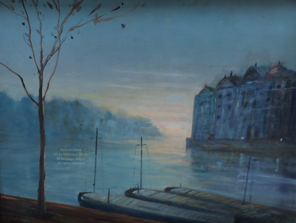 Paris at dawn by montagu marks copyright all rights reserved. Private Collection.