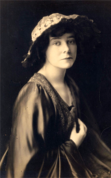 Stella Marks in 1917, Australian artist who painted over 500 portrait miniatures and was awarded an MVO for her work by Queen Elizabeth II