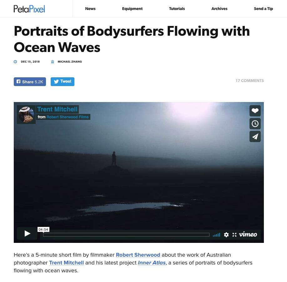Peta Pixel - Featured: Inner Atlas