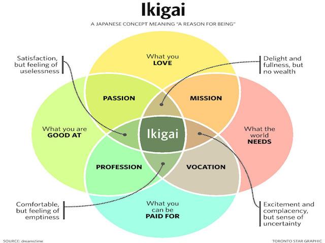 How Ikigai works