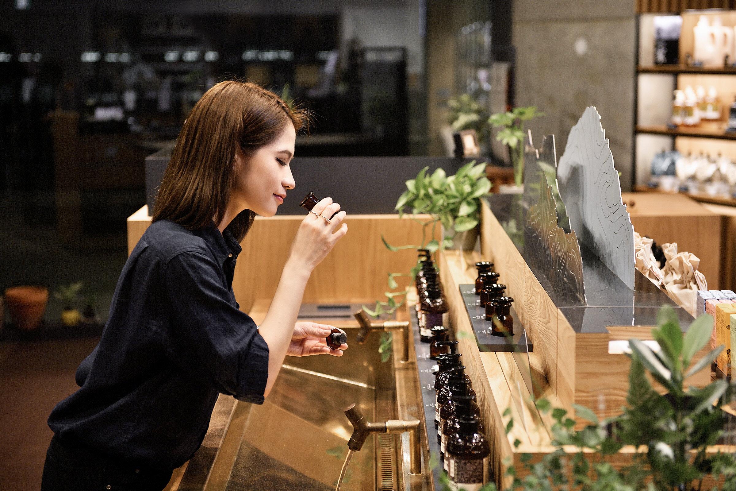 「山林島嶼」蘊藏主題展演、風格裝飾、商品體驗等充沛機能。