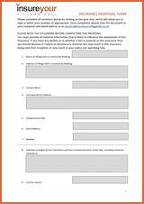 Editable Proposal Form (Microsoft Word)