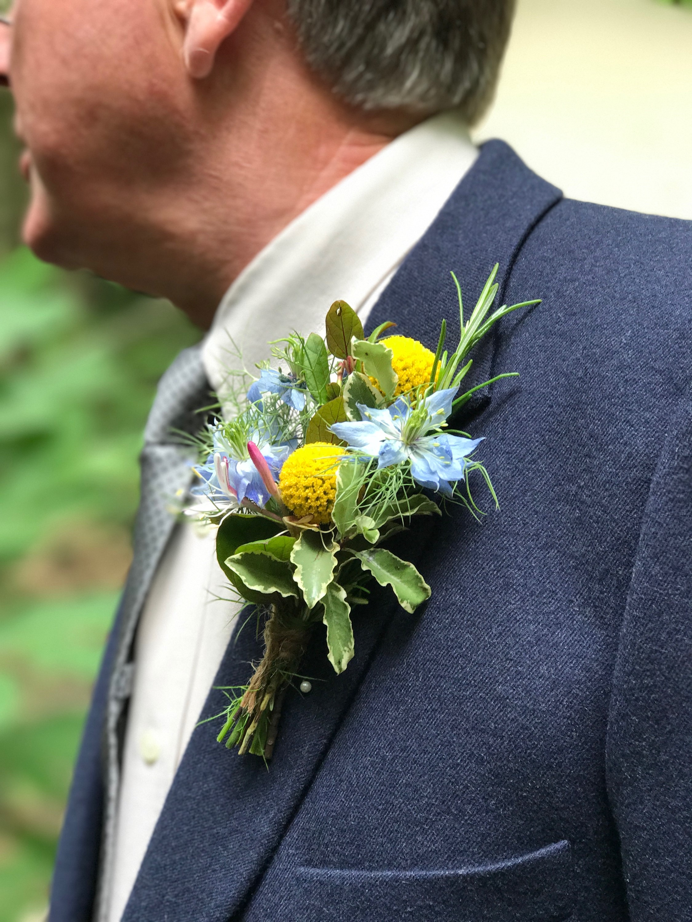 Sue Davies Flowers - Buttonhole