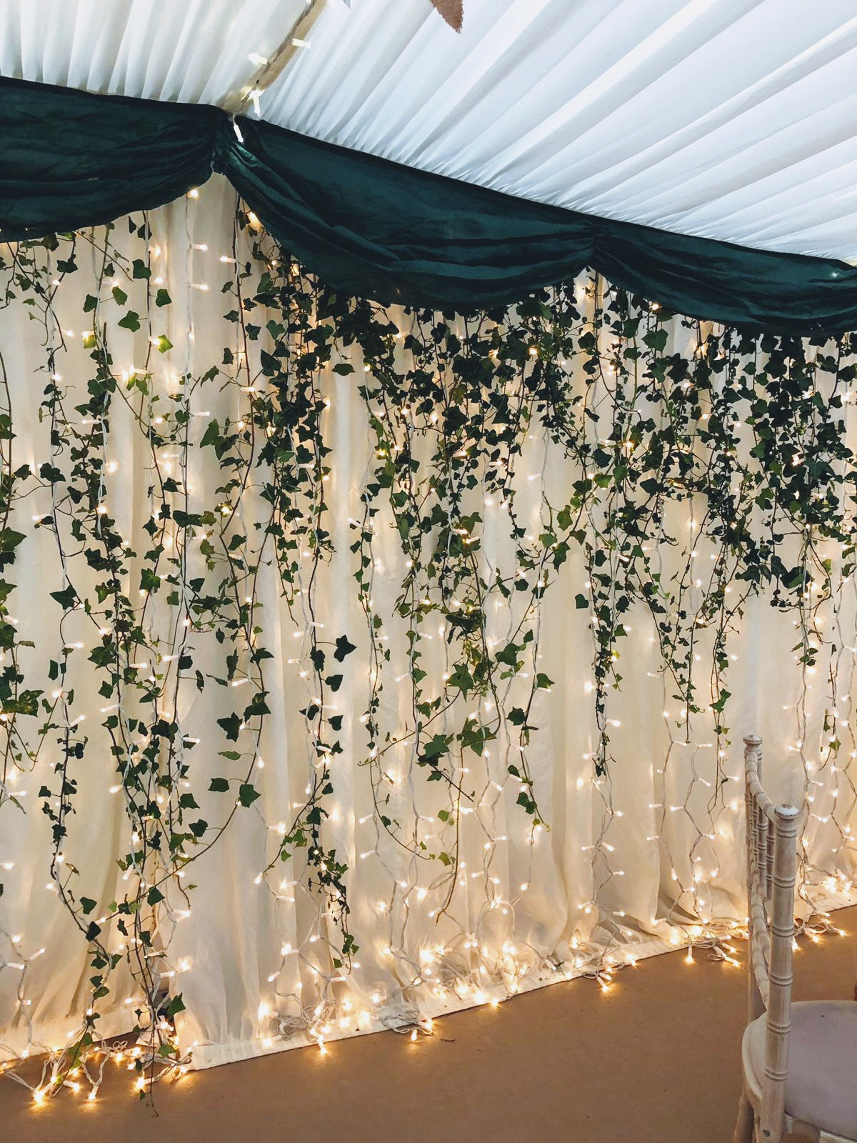 Marquee at Longton Wood
