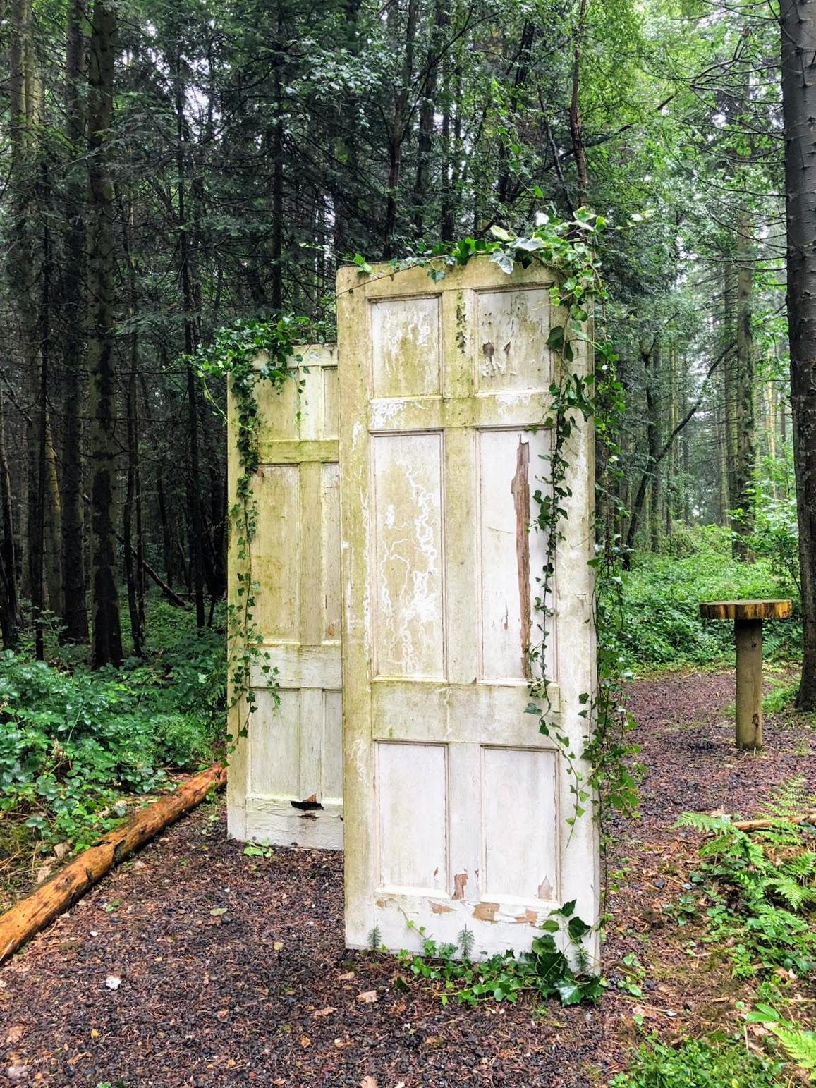 Doors at Longton Wood