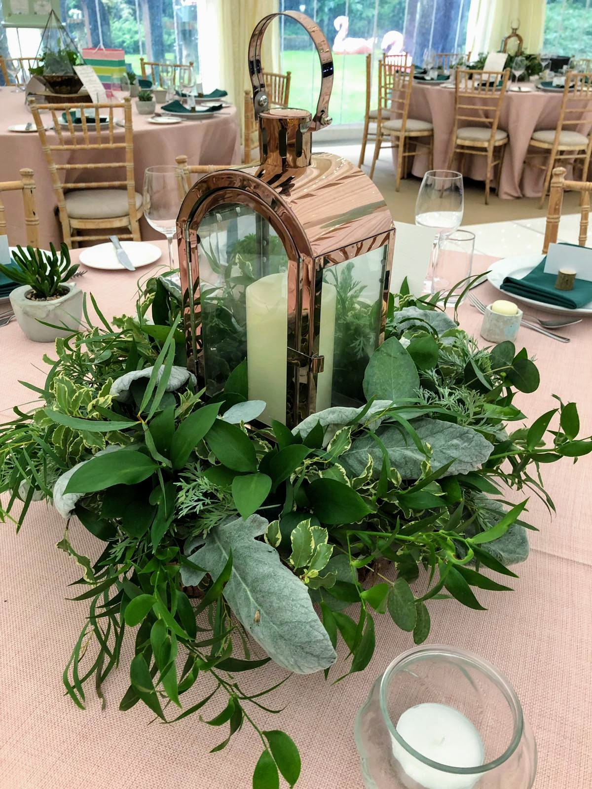 Succulent Terrarium at Longton Wood