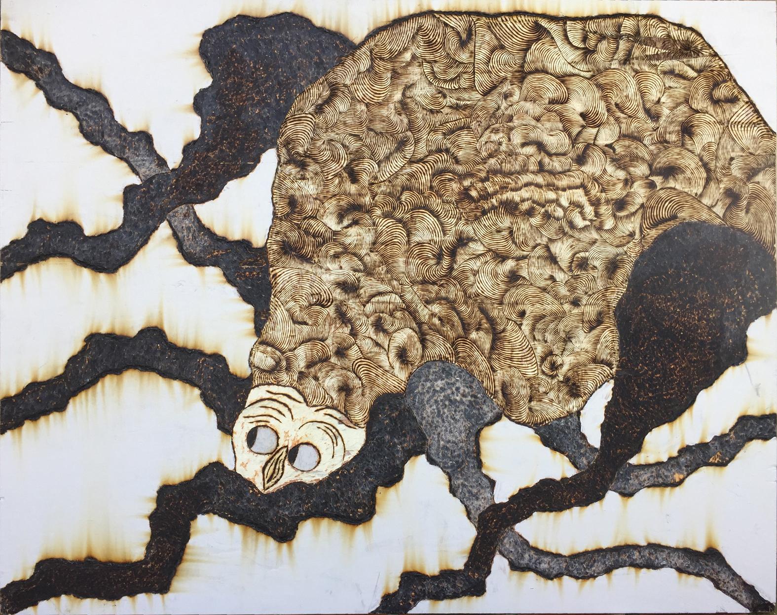 Copy of Le poulpe de la femme du pêcheur // // 120 x 95 cm