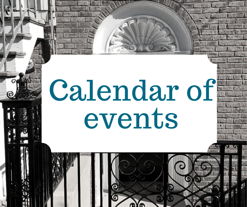 - Check out all our upcoming programs & events on our calendar.