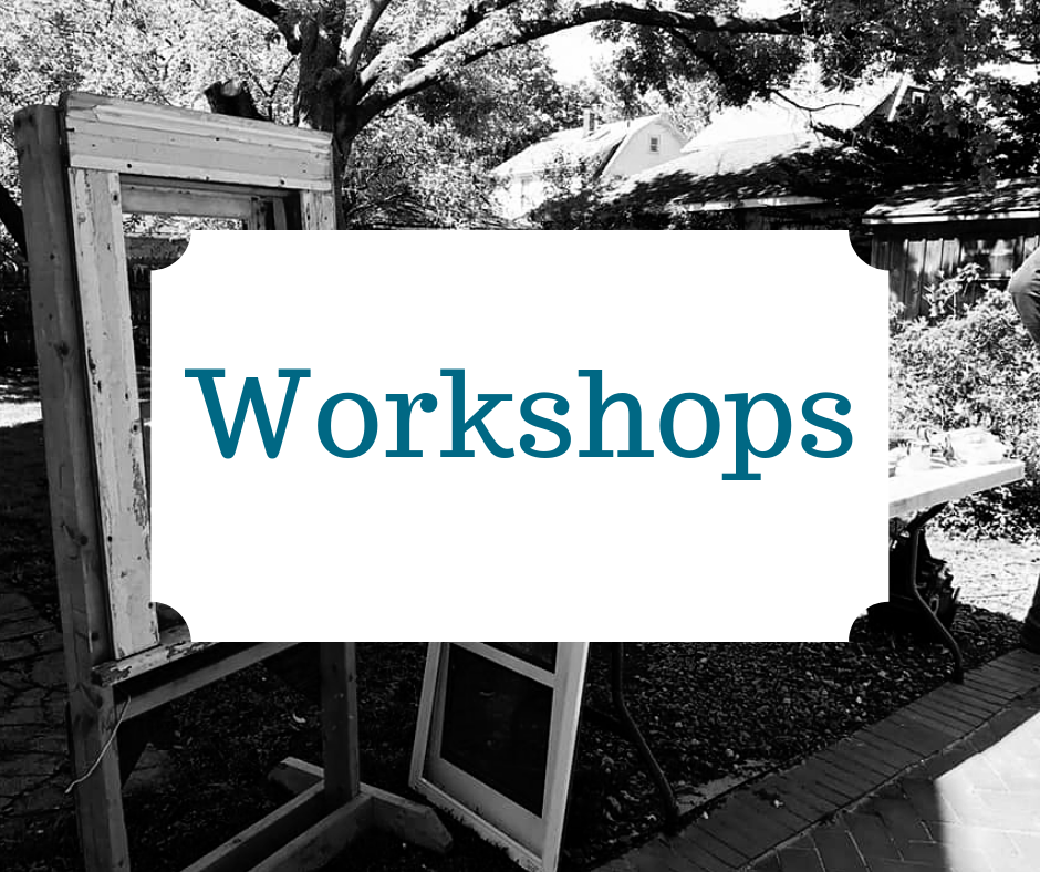 - We regularly offer a variety of different workshops to help you learn preservation skills, hands-on.
