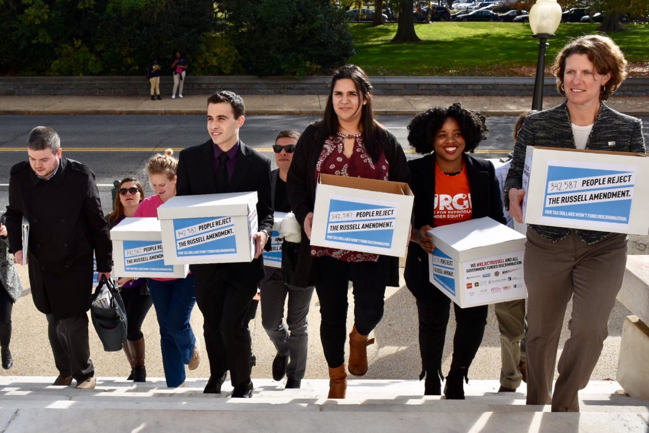 Americans United joined a dozen national organizations and over 340,000 petition signers in urging Congress to #RejectRussell.