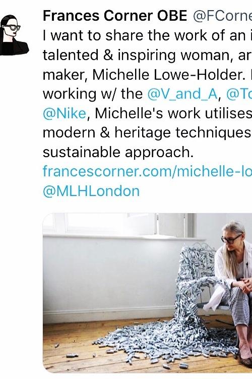 Frances Corner OBE Blogpost 2019