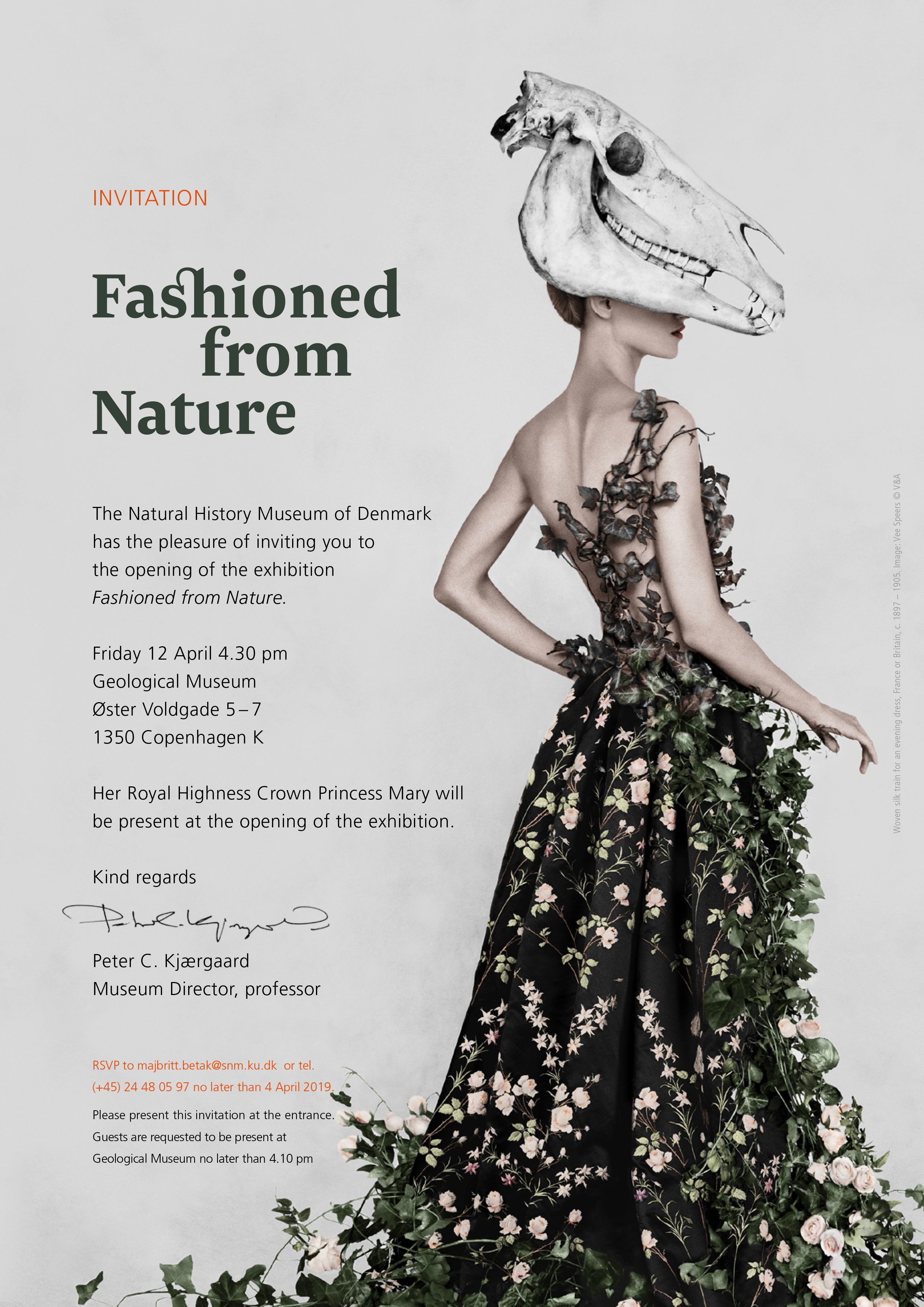 """'Fashioned from Nature"""" Natural History Museum of Copenhagen"""
