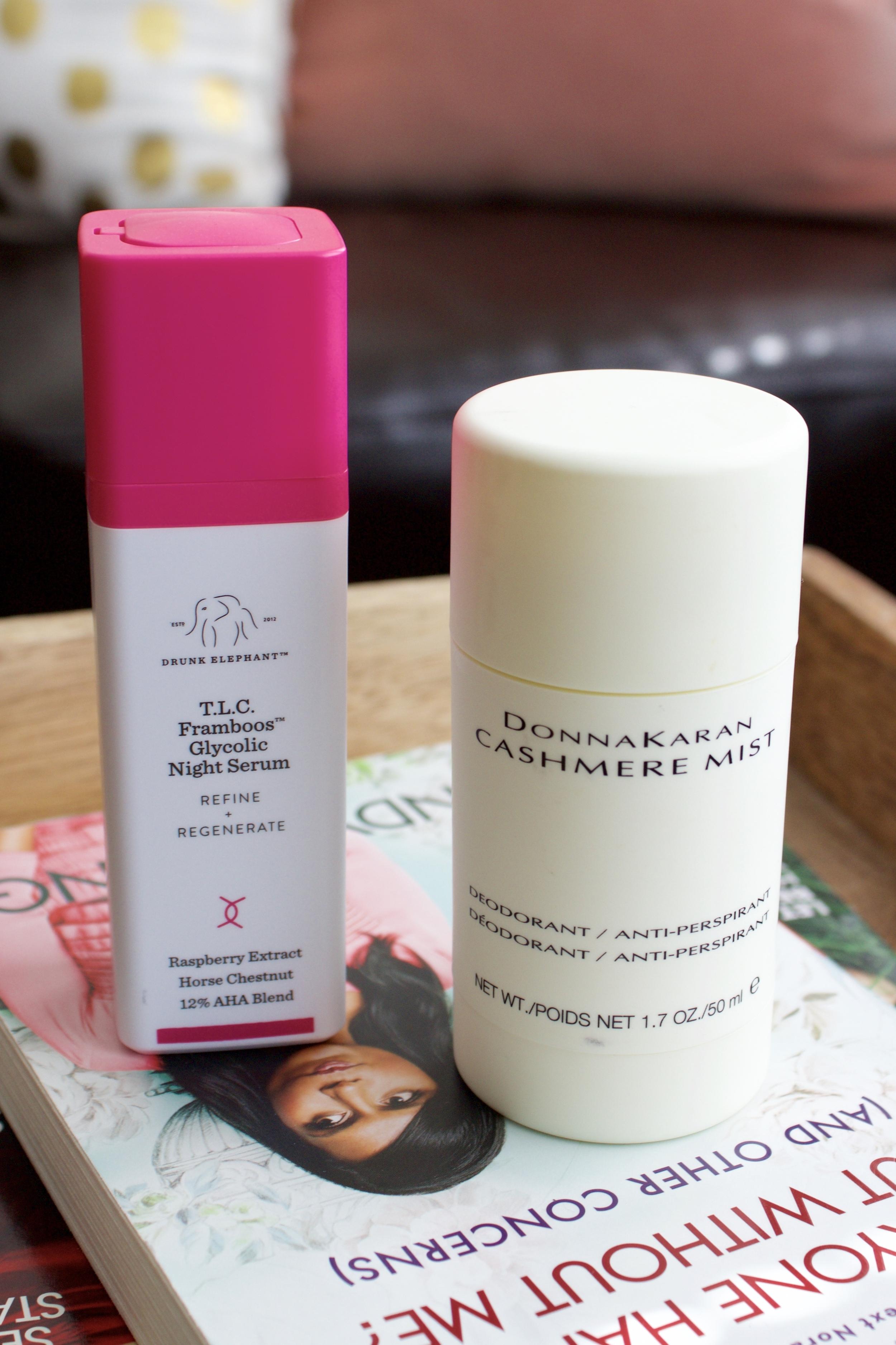 Samantha McNeil July Favorites - Night Serum and Deodorant