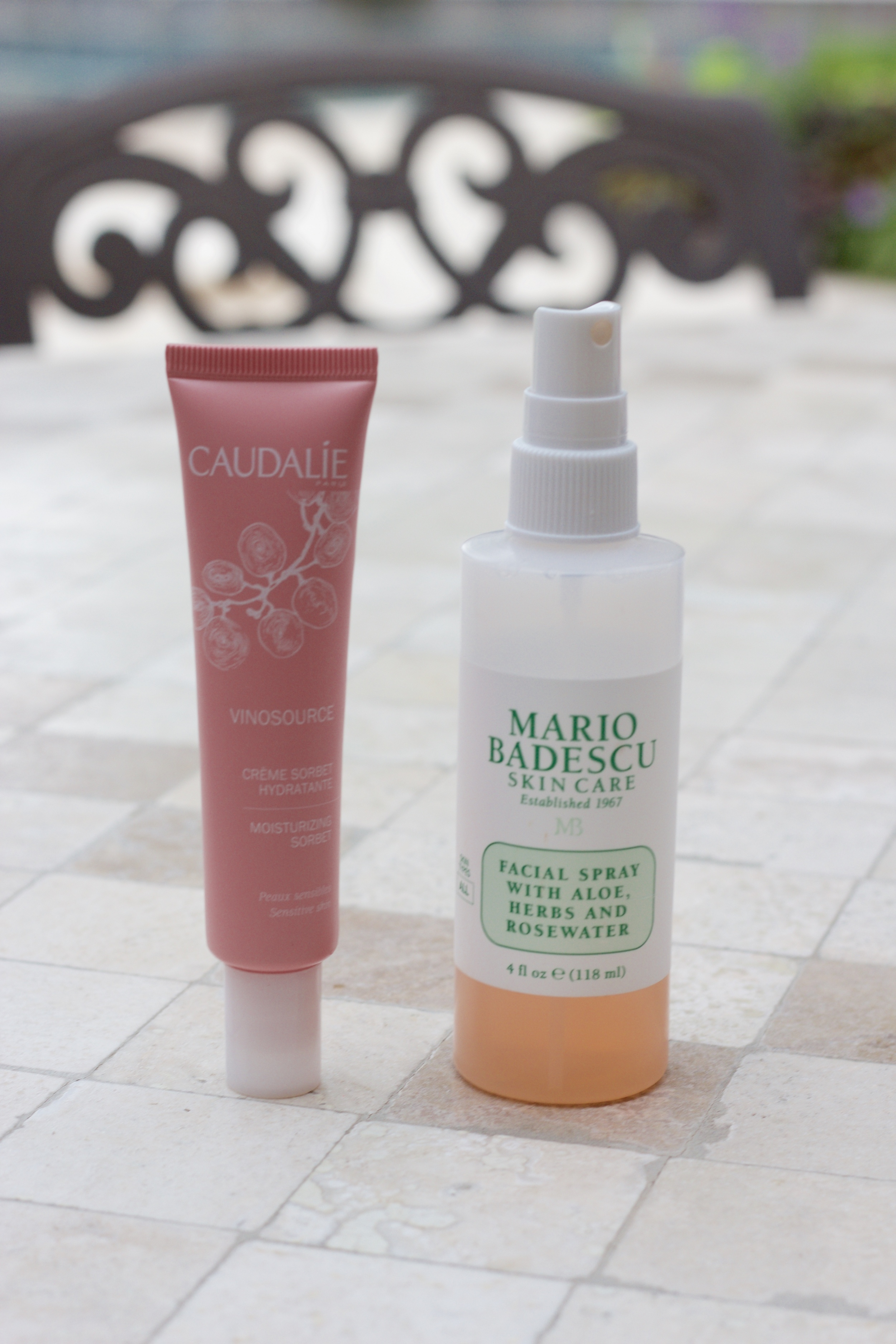 Samantha McNeil Blog Skincare Routine - Facial spray and moisturizer