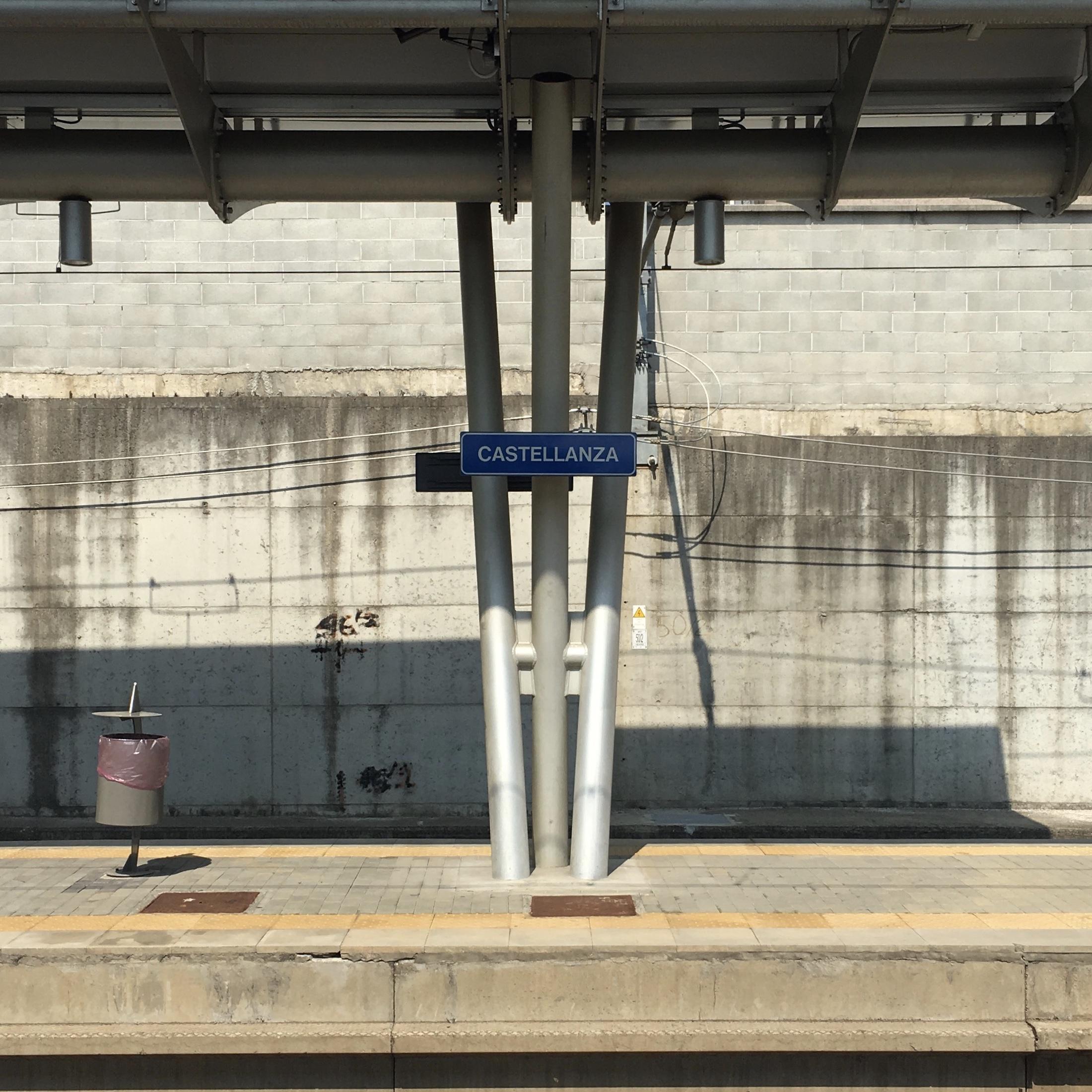 Samantha McNeil Blog Castellanza Train Station