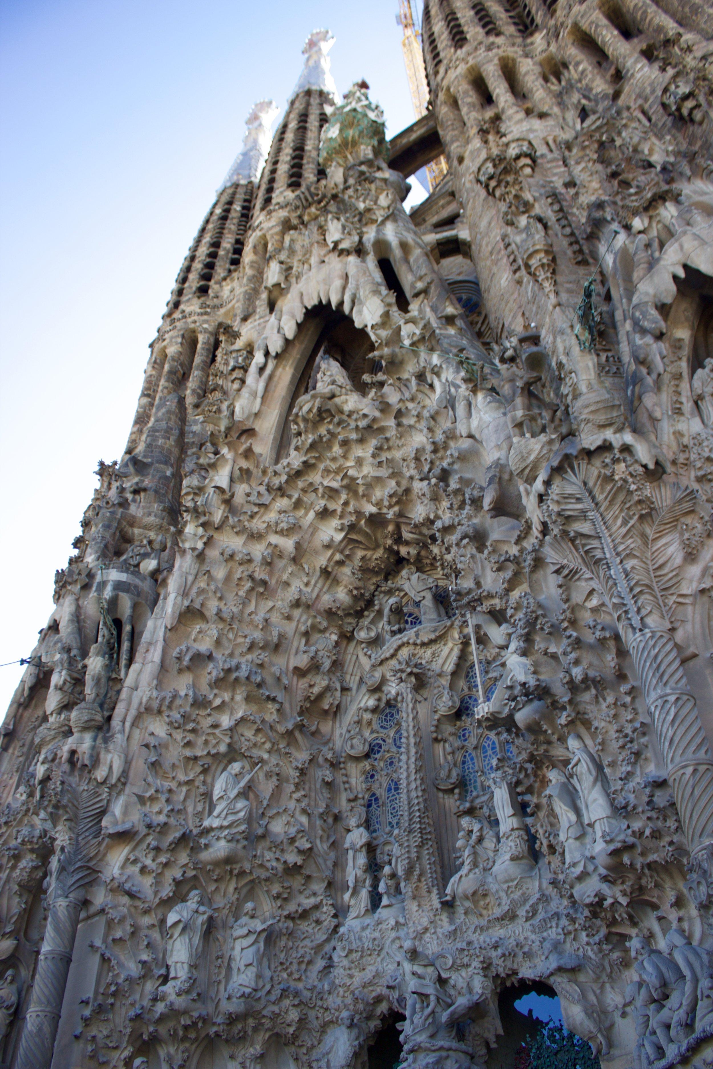 Samantha McNeil Blog Barcelona Sagrada Familia
