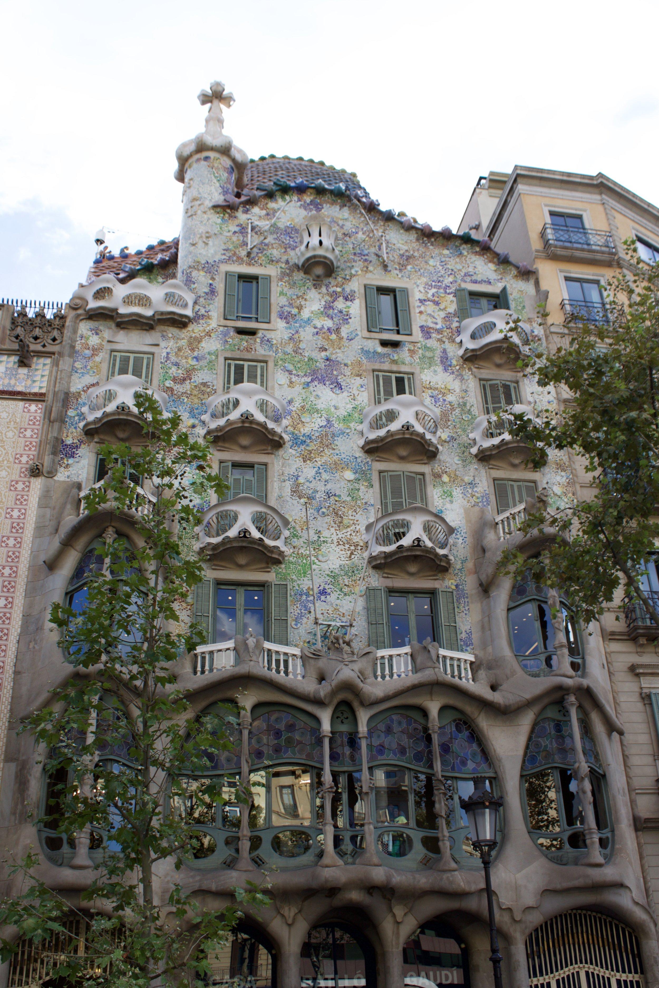 Samantha McNeil Blog Casa Batllo Barcelona