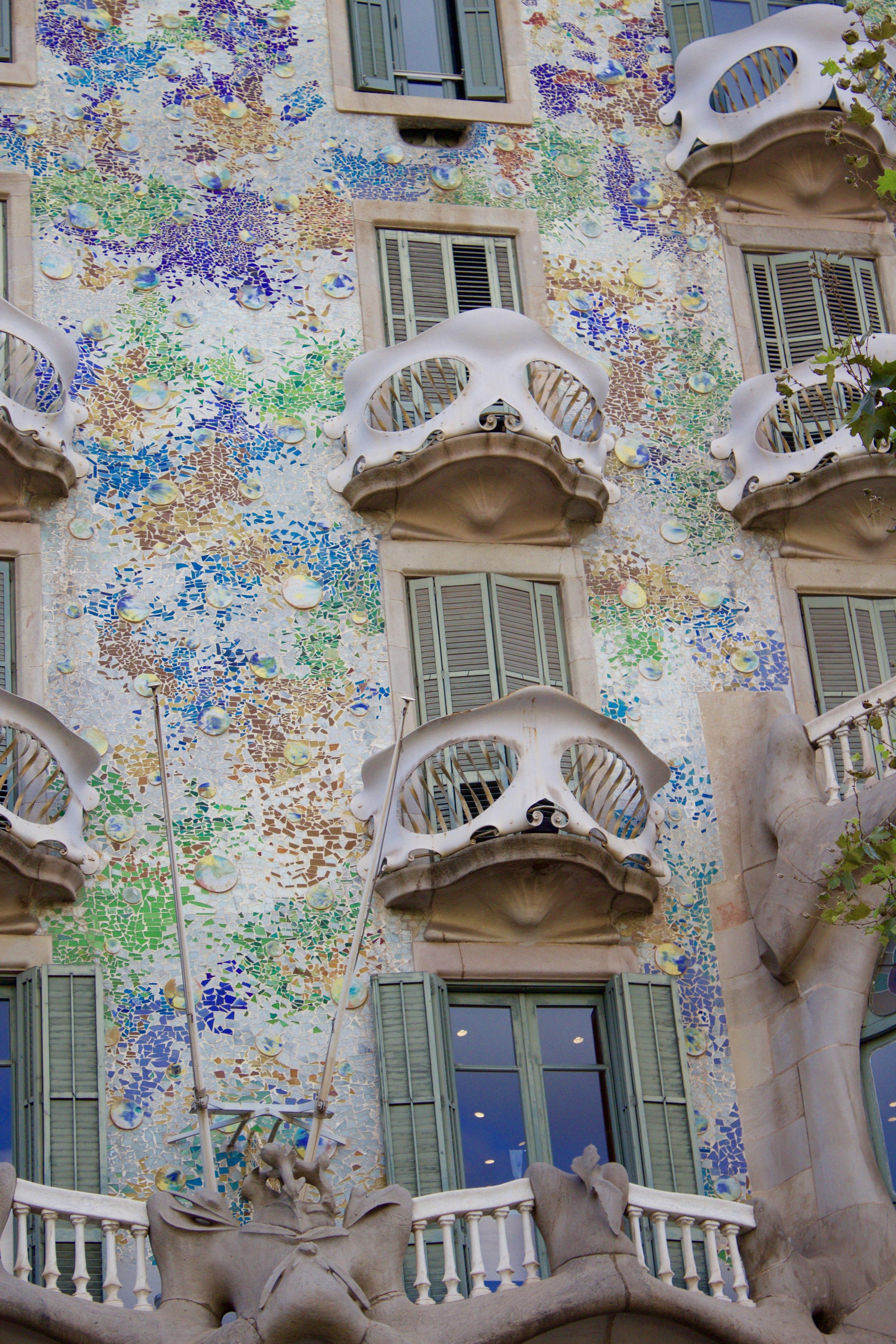 Samantha McNeil Casa Batllo Barcelona