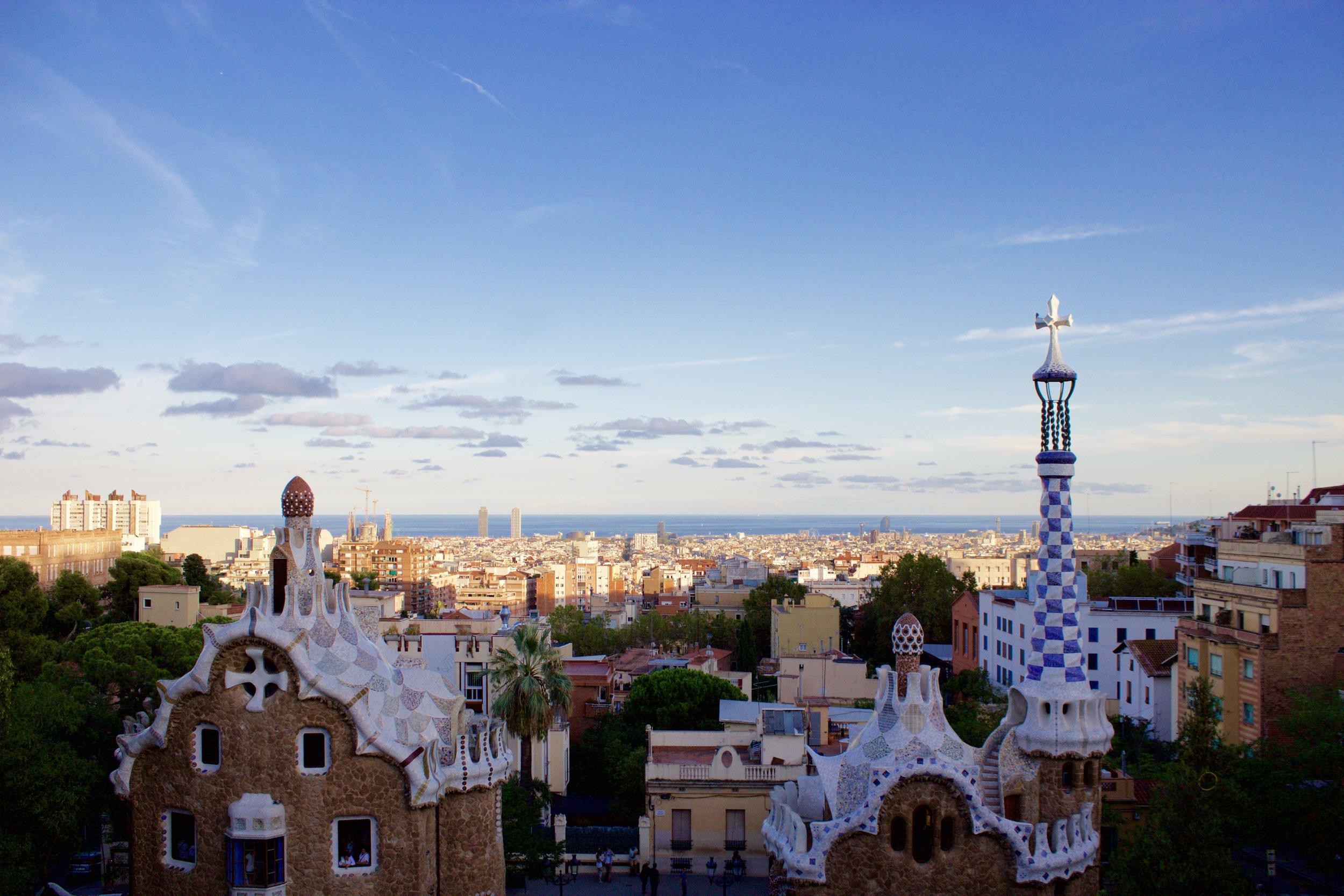 Samantha McNeil Blog Park Guell Barcelona