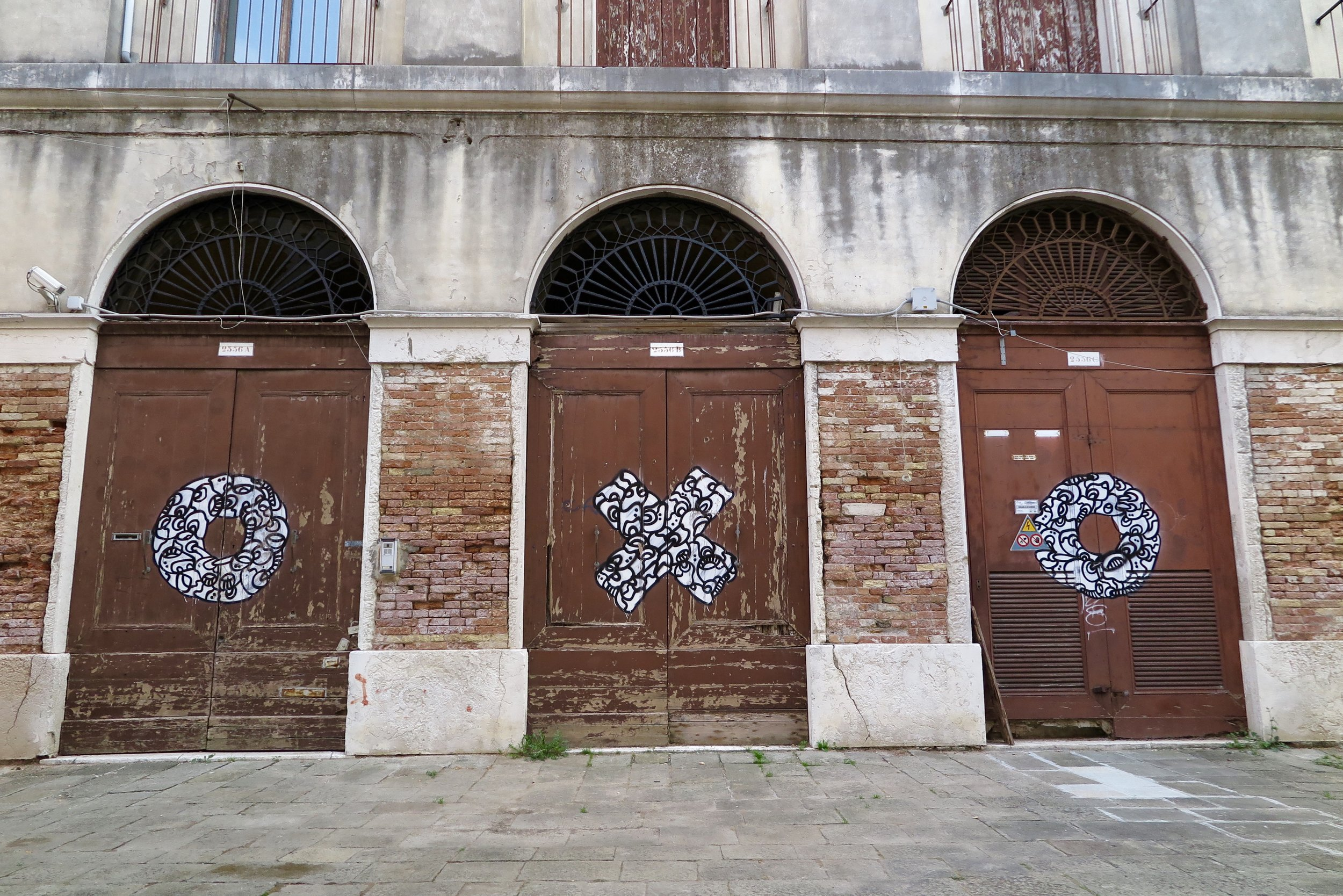 Graffiti in Venice, Italy, Samantha McNeil