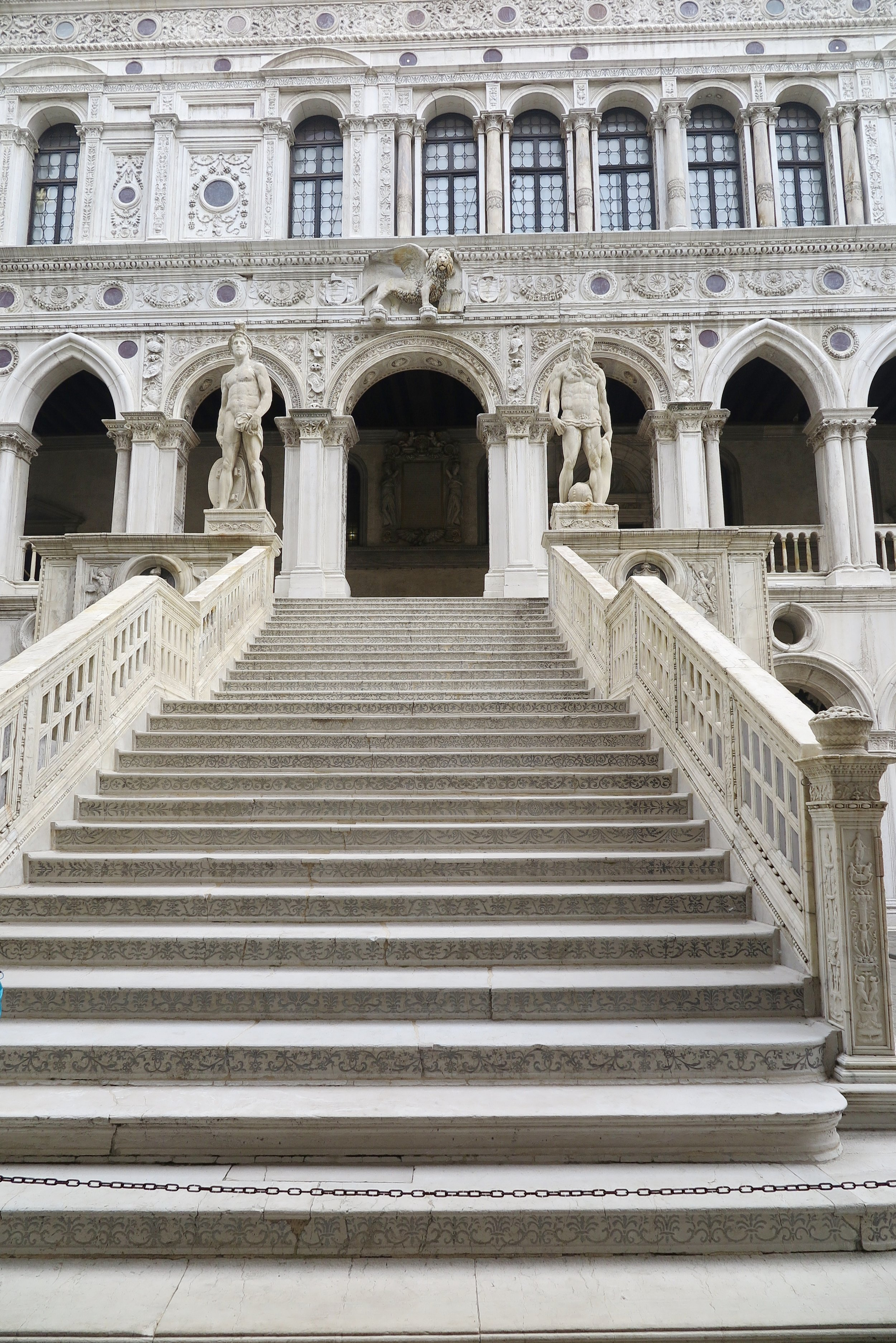 Doge's Palace Staircase, Venice, Italy, Samantha McNeil