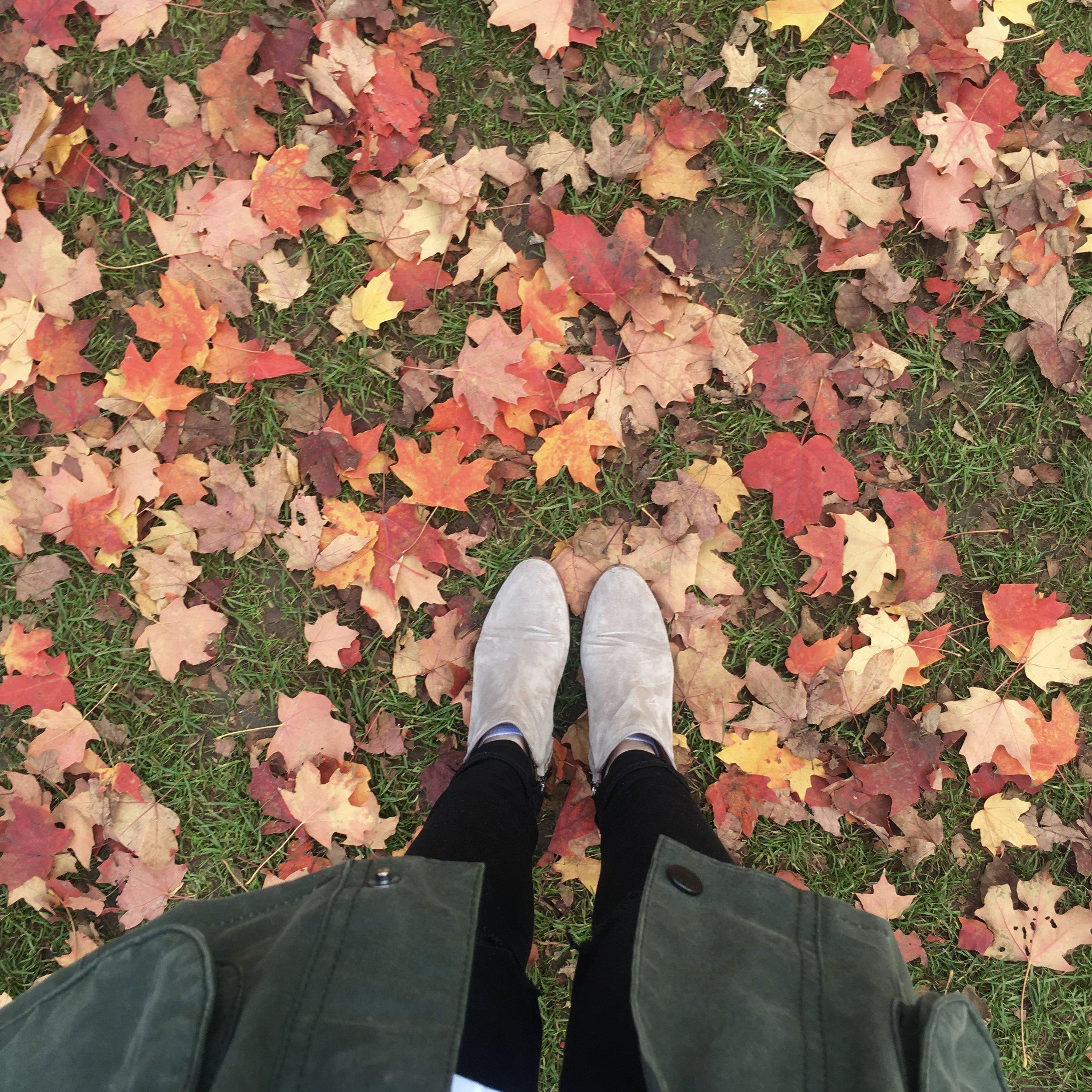 Jacket  //  Jeans  //  Booties