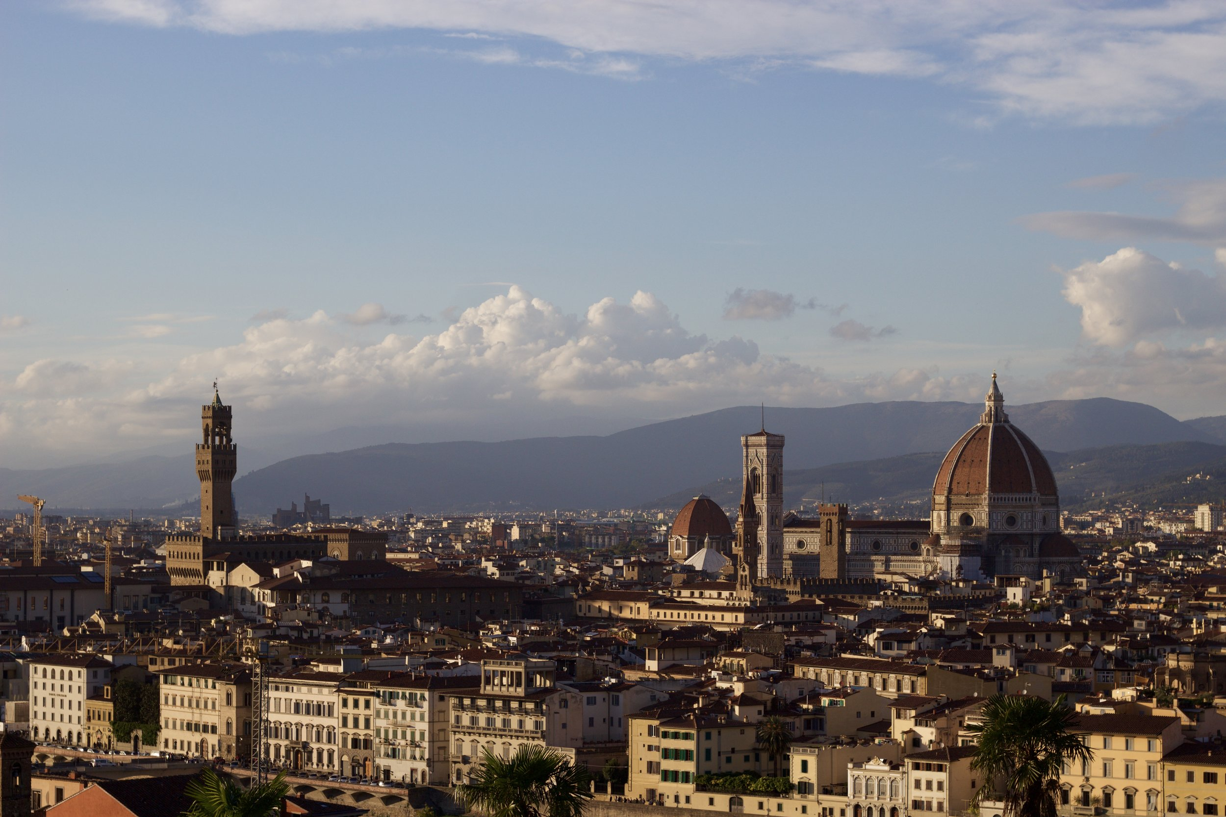 Samantha McNeil Blog - View from the Piazzale Michelangelo
