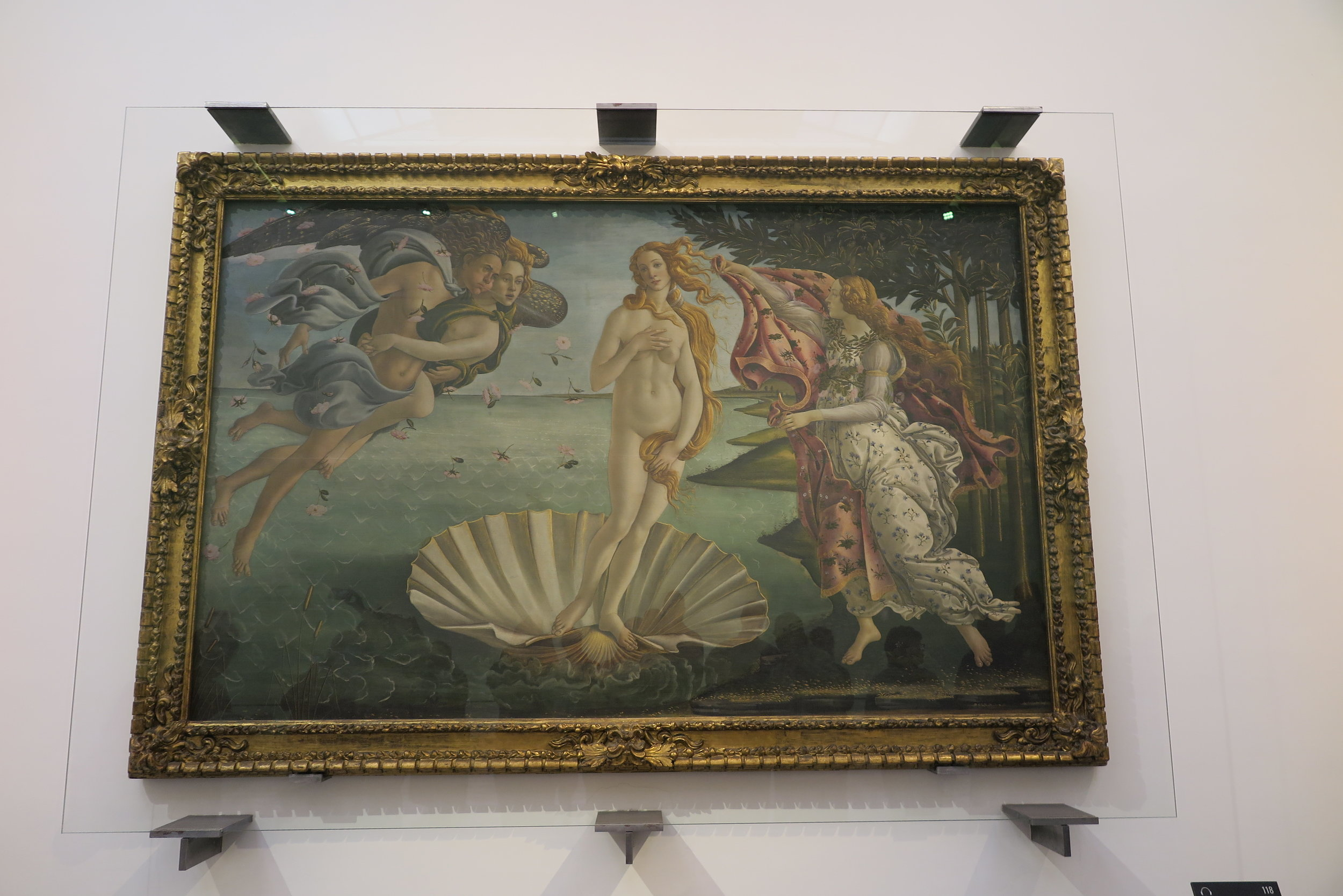 Samantha McNeil Blog - Birth of Venus at the Uffizi Gallery in Florence
