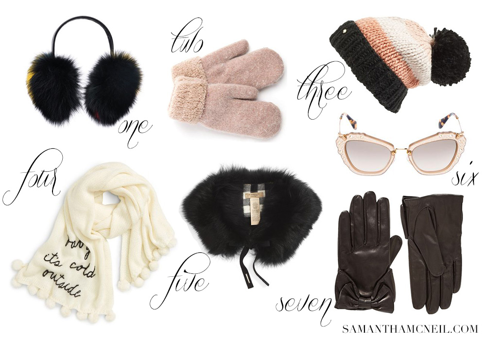 Chic Cold Weather Accessories