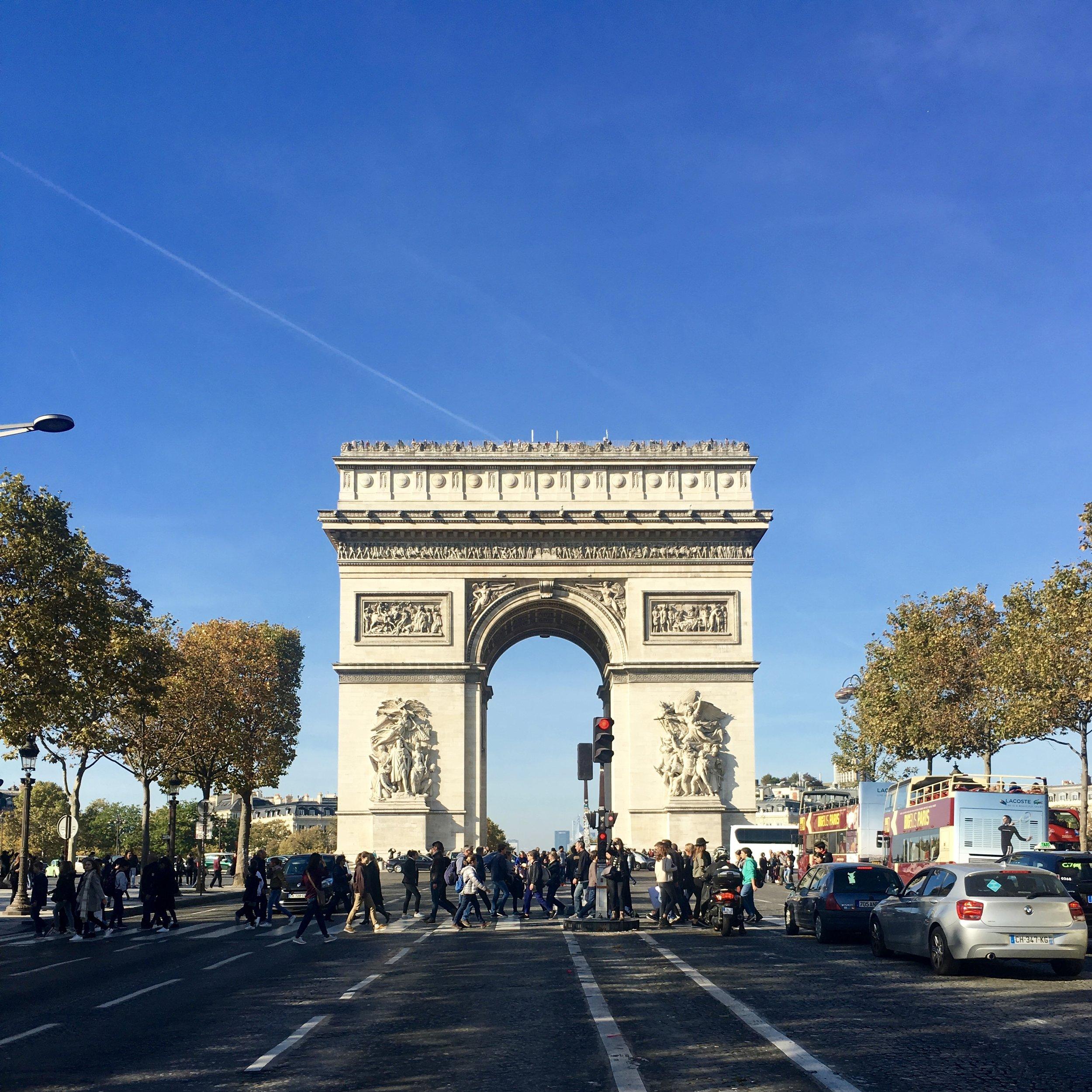 Champs-Elysées Paris - Samantha McNeil Blog