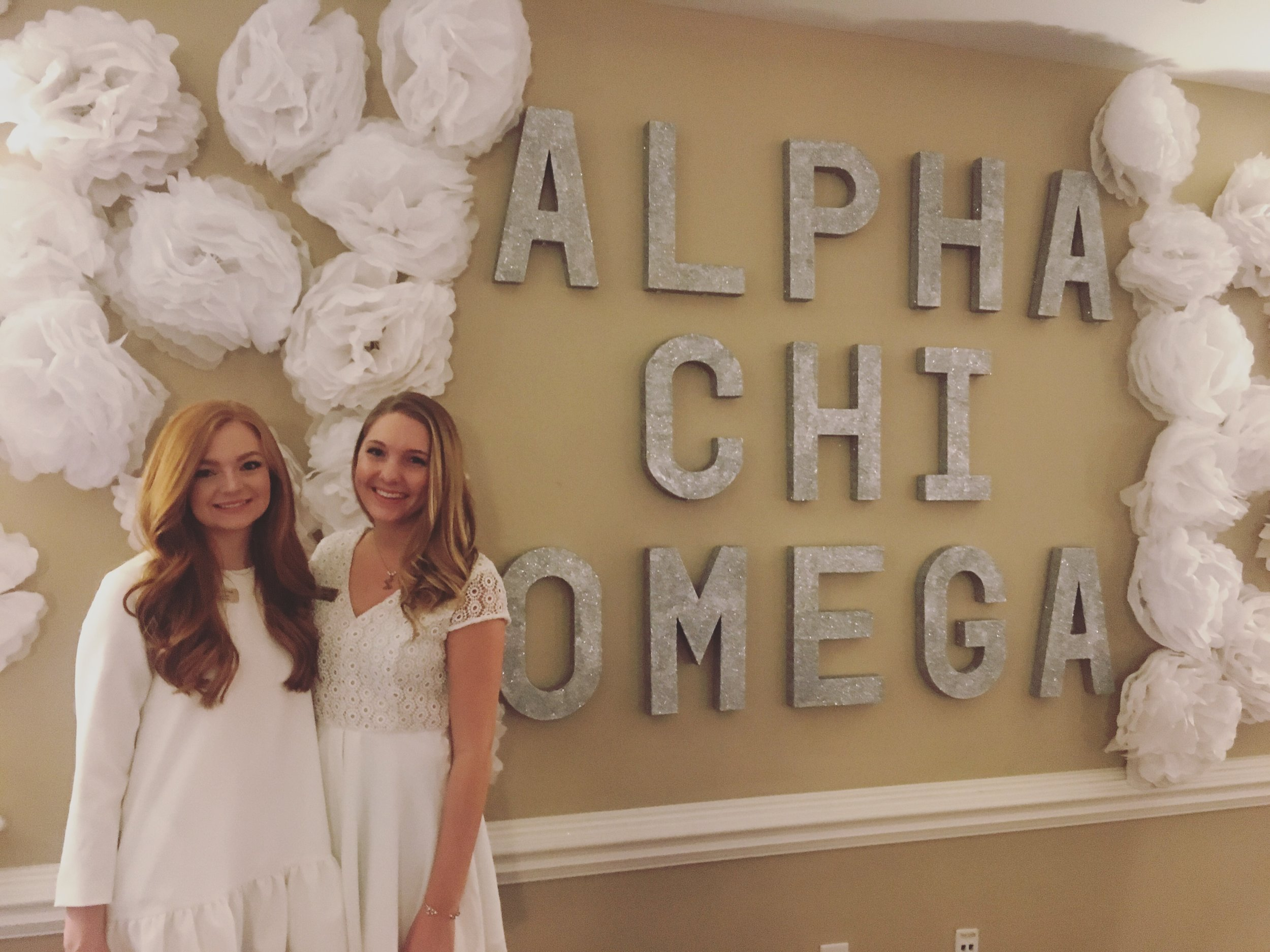 Alpha Chi Omega // Kappa Omicron // Philanthropy Round // Formal Recruitment 2017 // Samantha McNeil 2017