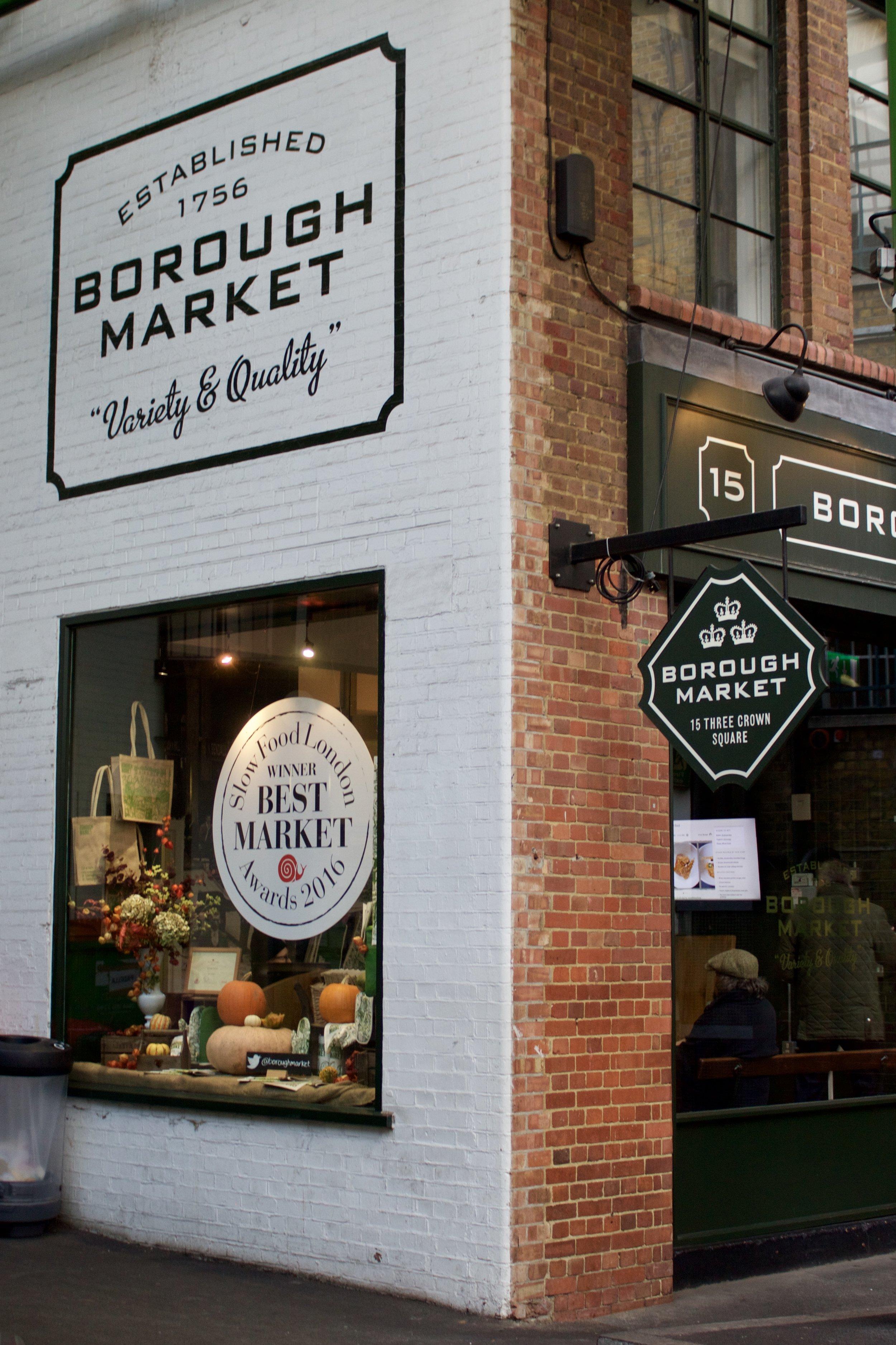 Borough Market // London England // Samantha McNeil Blog