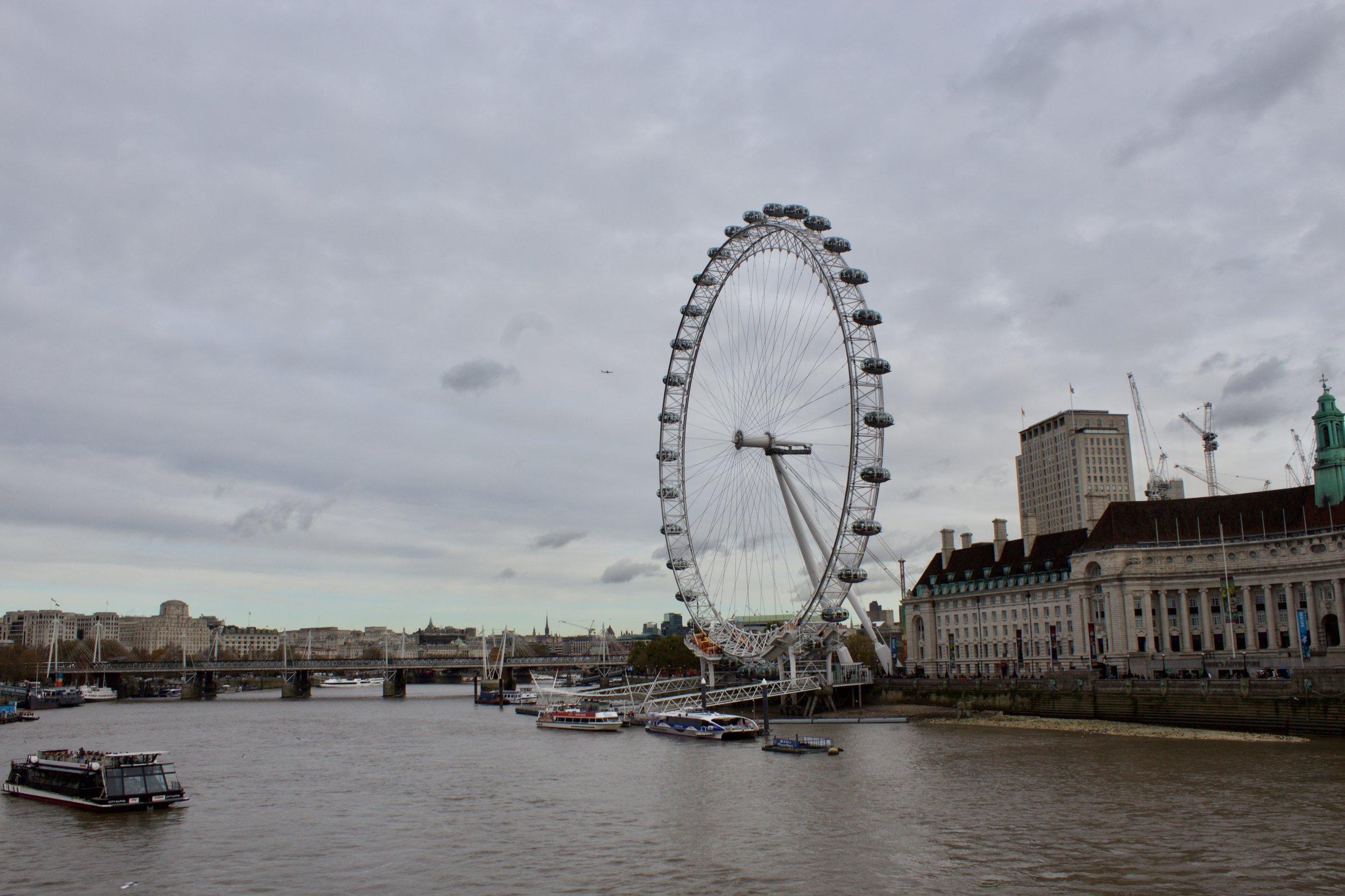 London Eye // London England // Samantha McNeil Blog