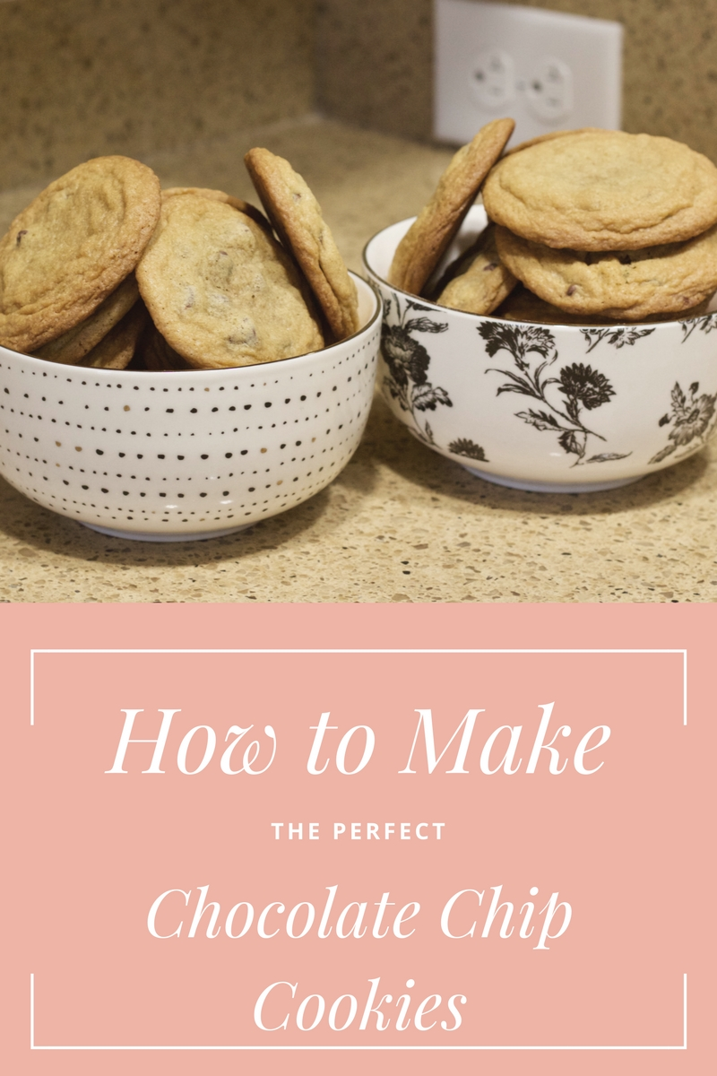 How to Bake the Perfect Chocolate Chip Cookies // Samantha McNeil