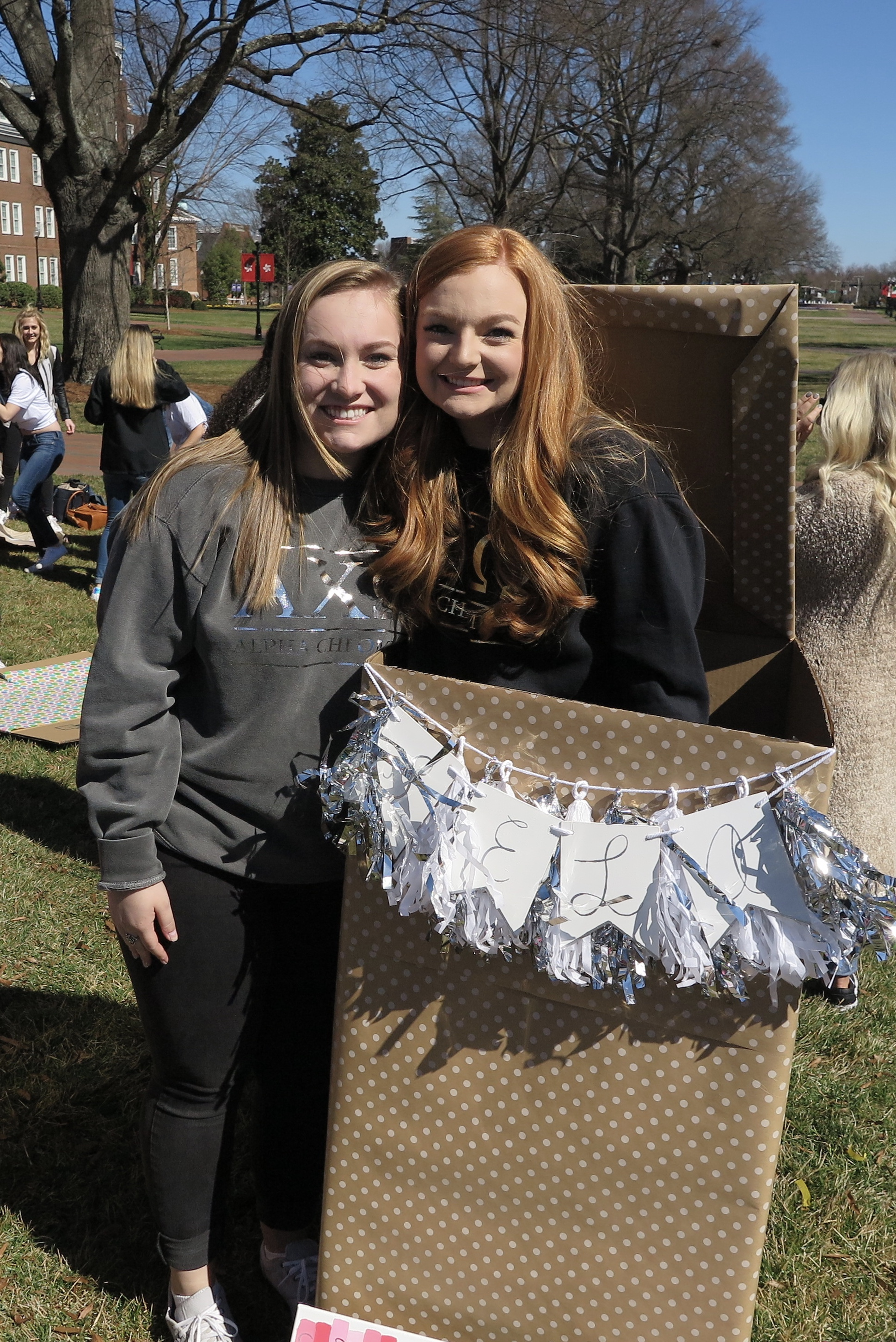 Samantha McNeil Blog // AXO Big Little Reveal