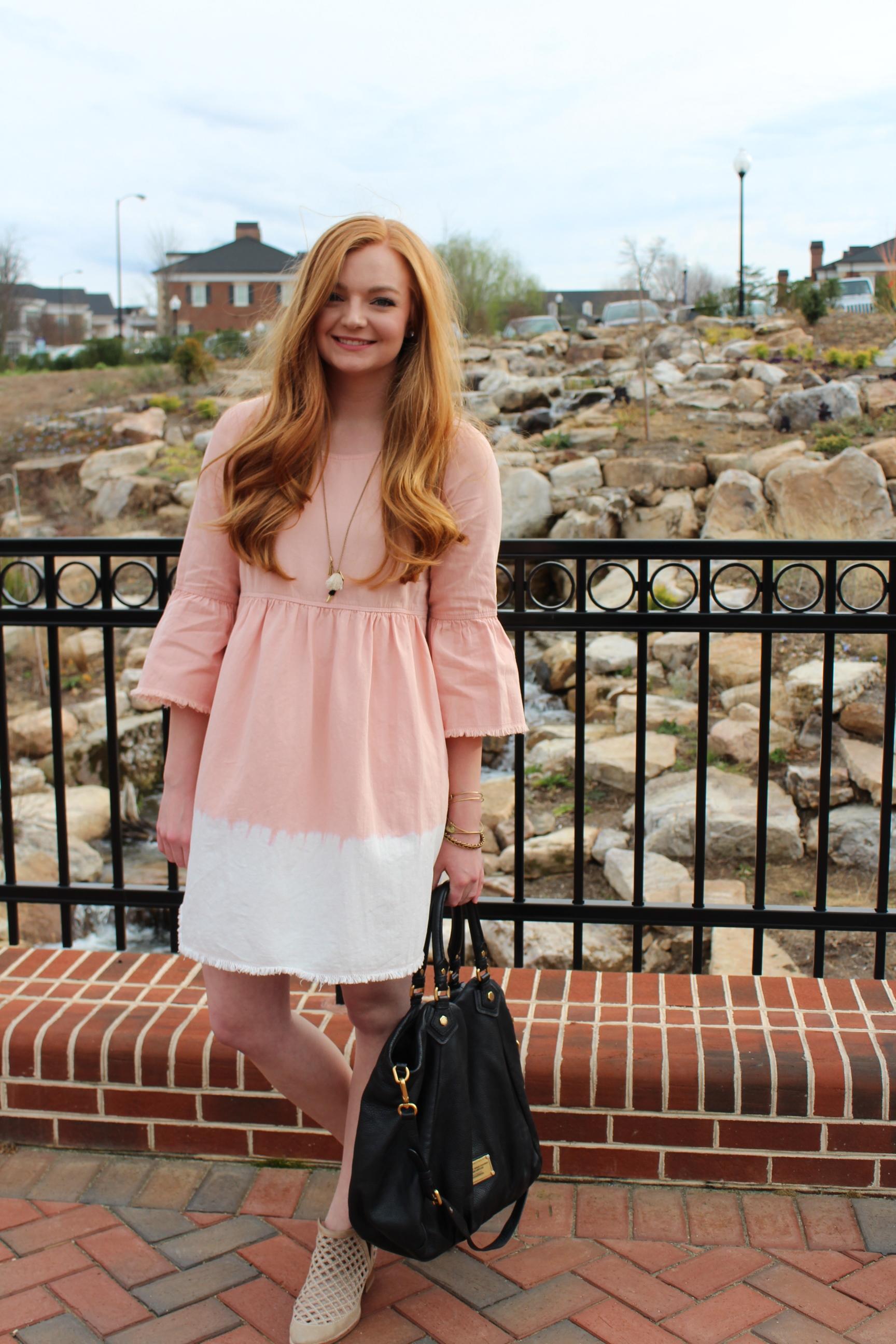 Samantha McNeil Blog // Pink Babydoll Dress