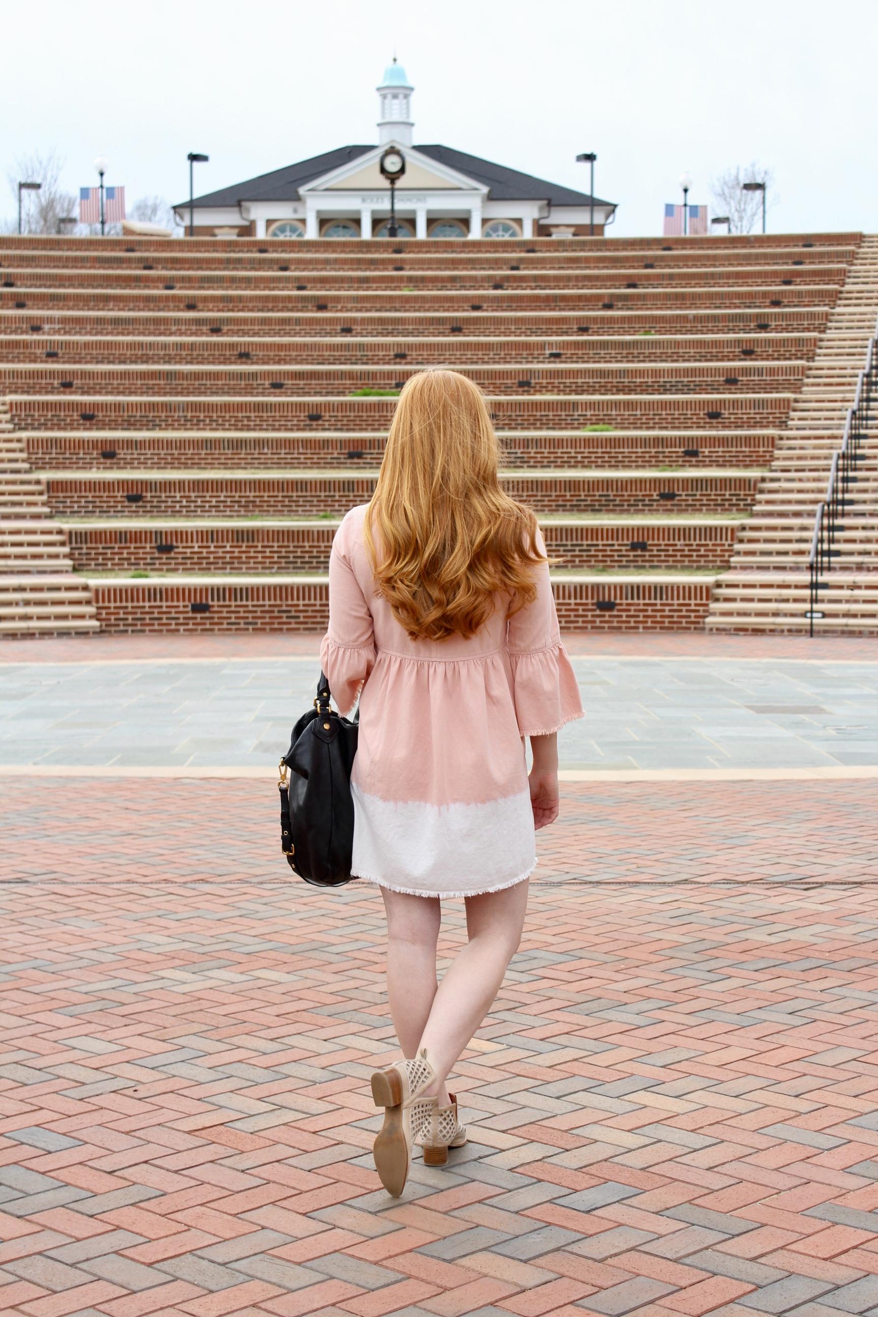 Samantha McNeil Blog // Anthropoligie Dress