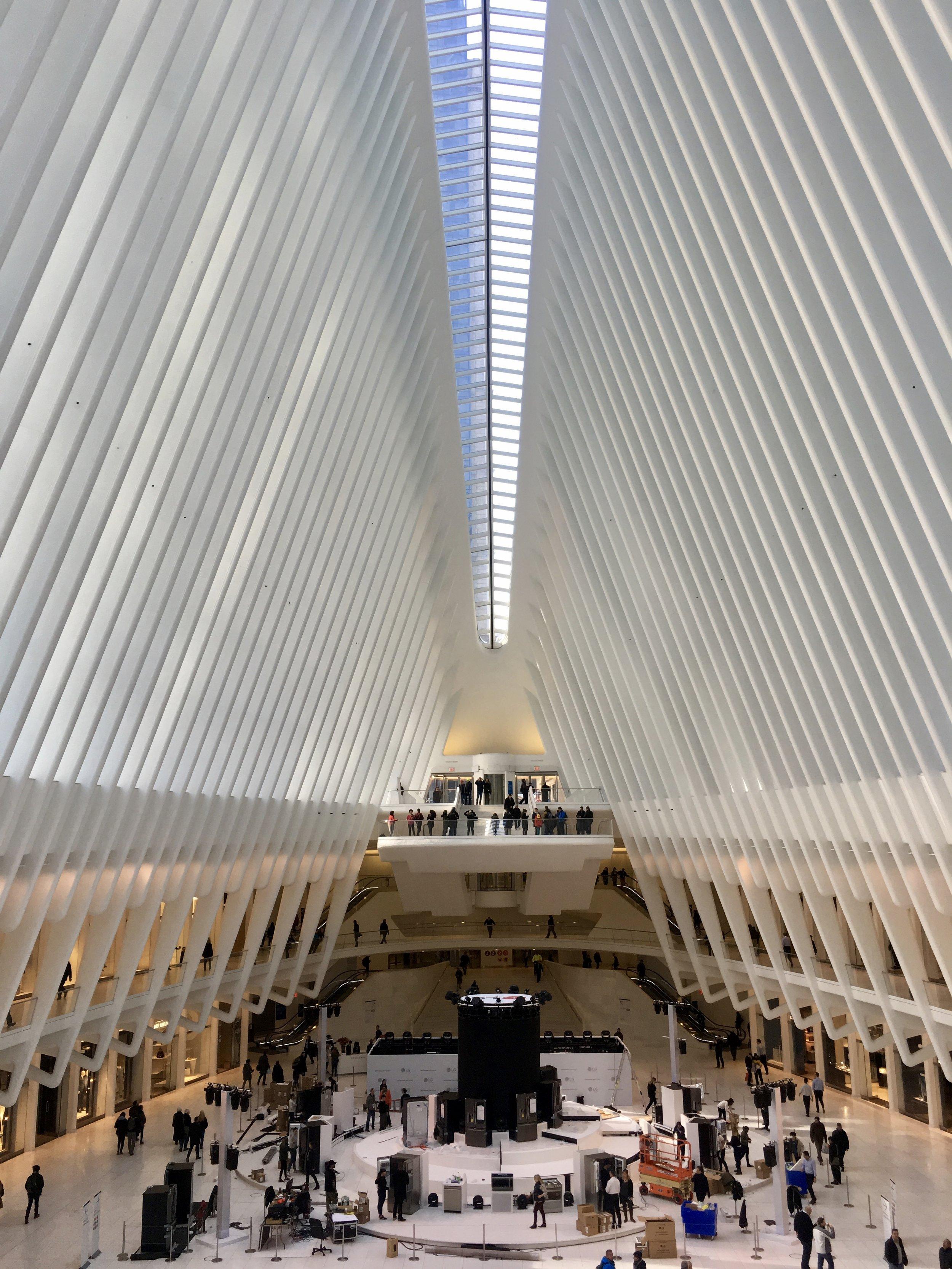 Samantha McNeil Blog // Westfield World Trade Center