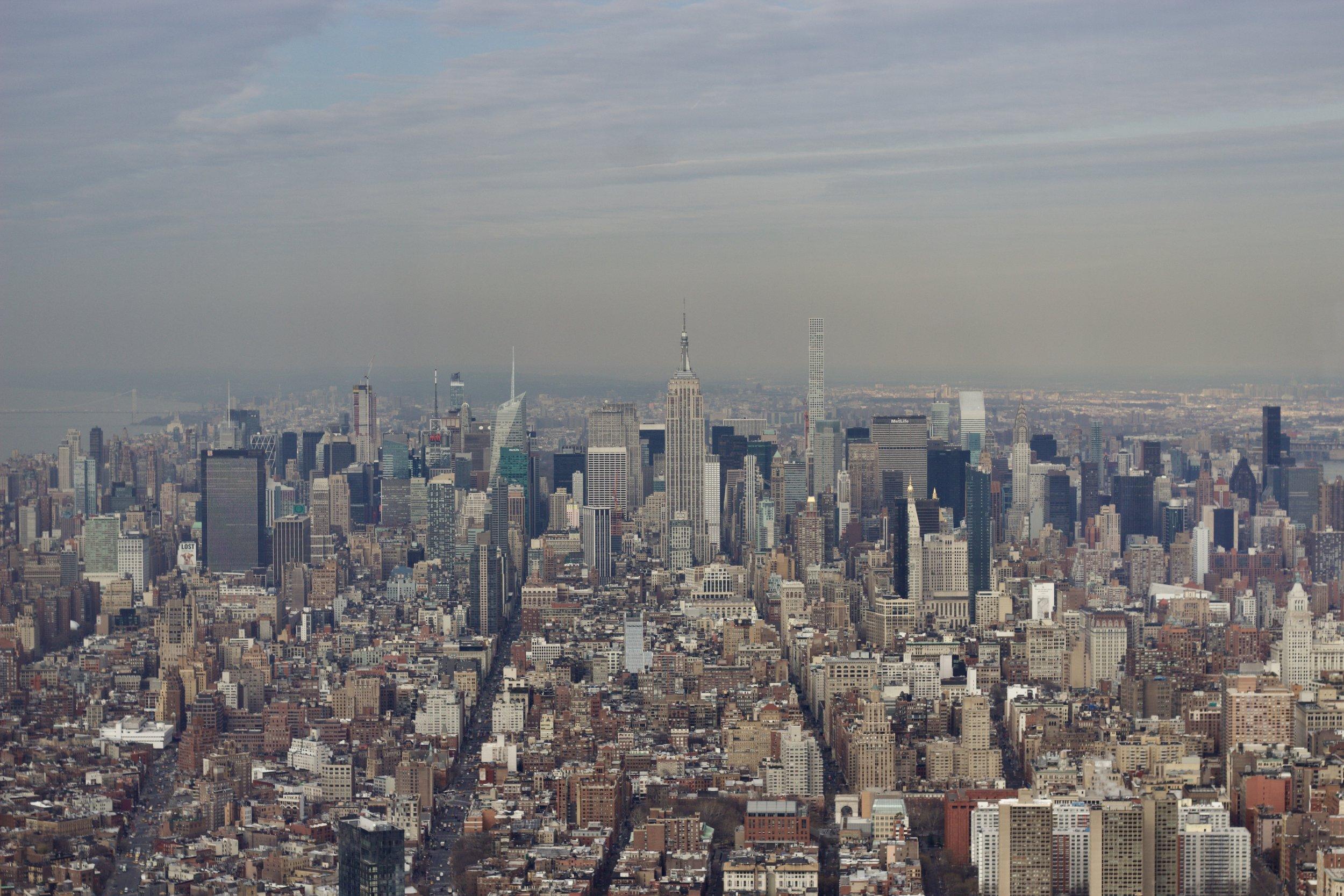 Samantha McNeil Blog // One World Observatory NYC
