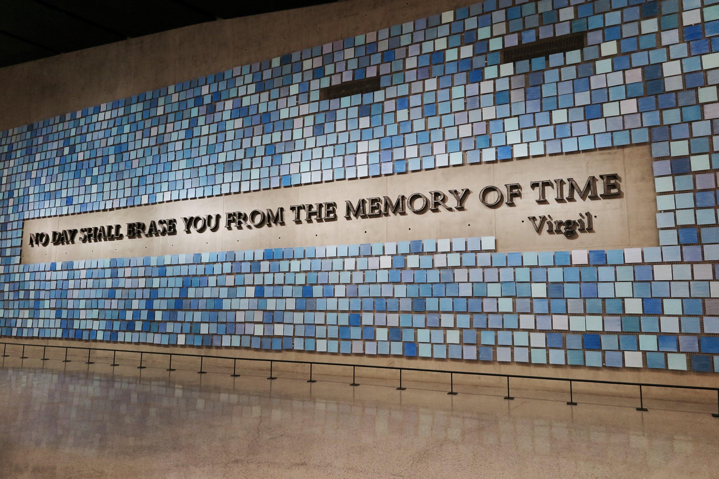 Samantha McNeil Blog // The National September 11 Memorial & Museum