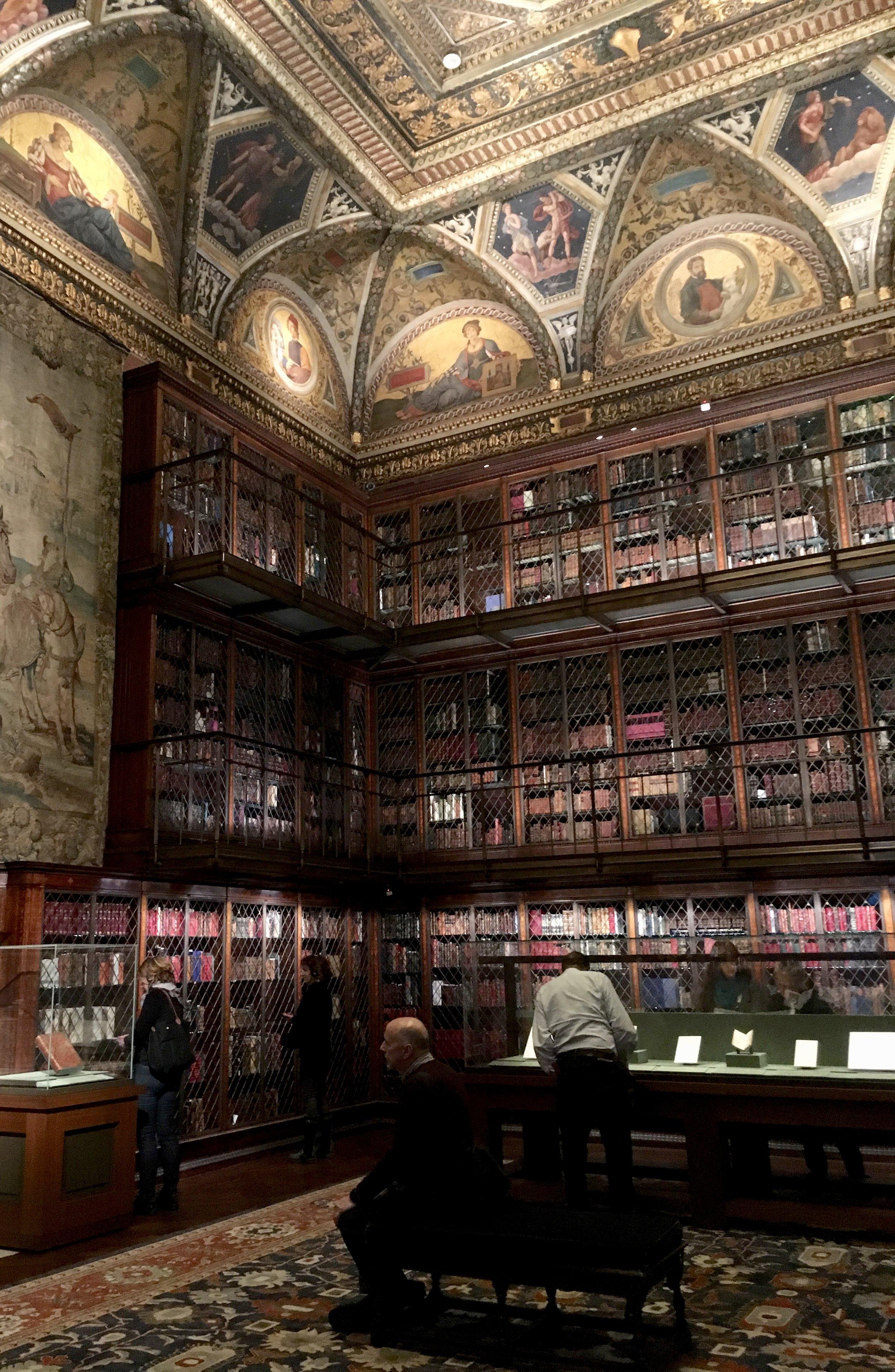 Samantha McNeil Blog // The Morgan Library NYC