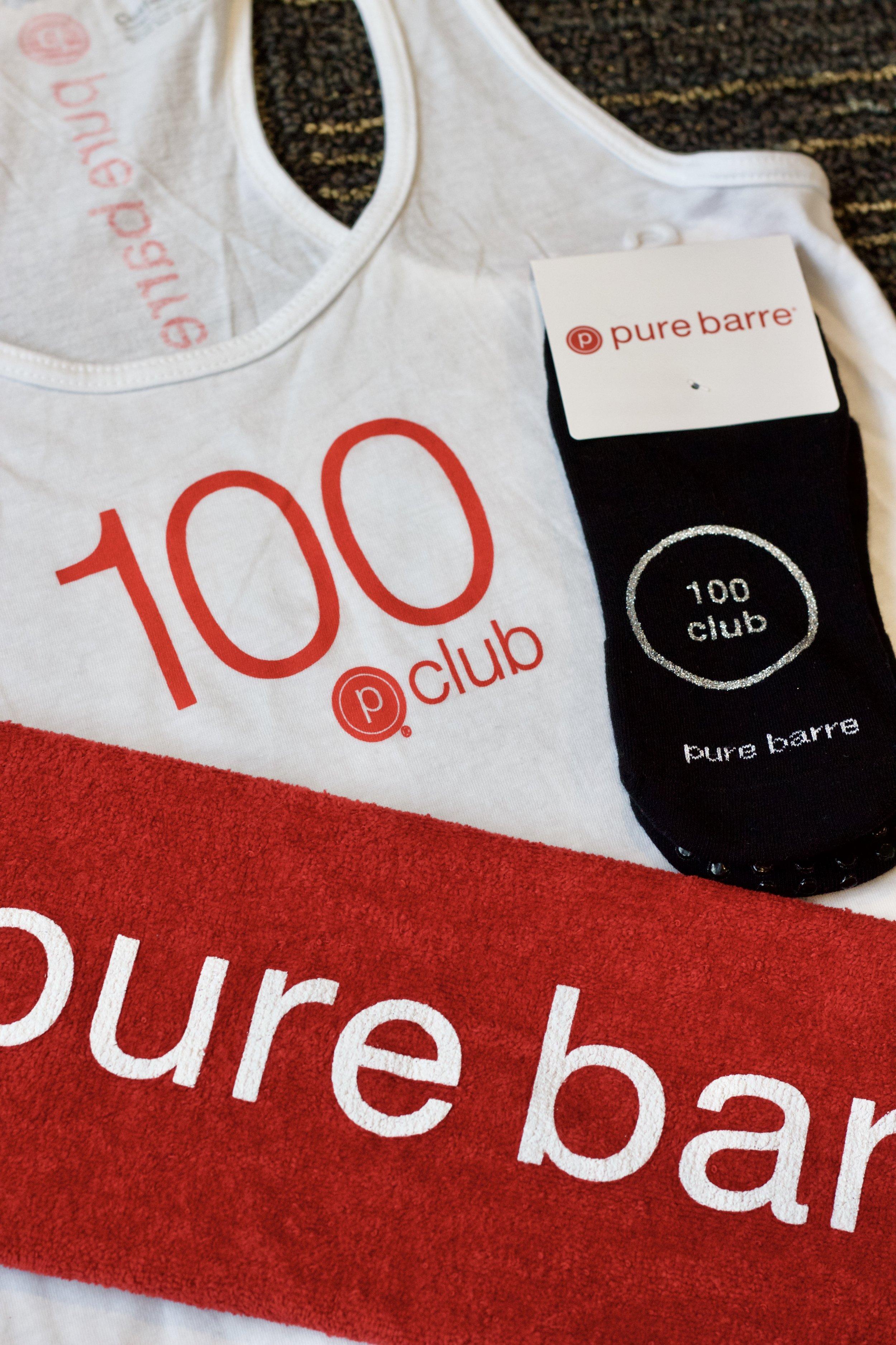 Samantha McNeil Blog // Pure Barre 100 Club